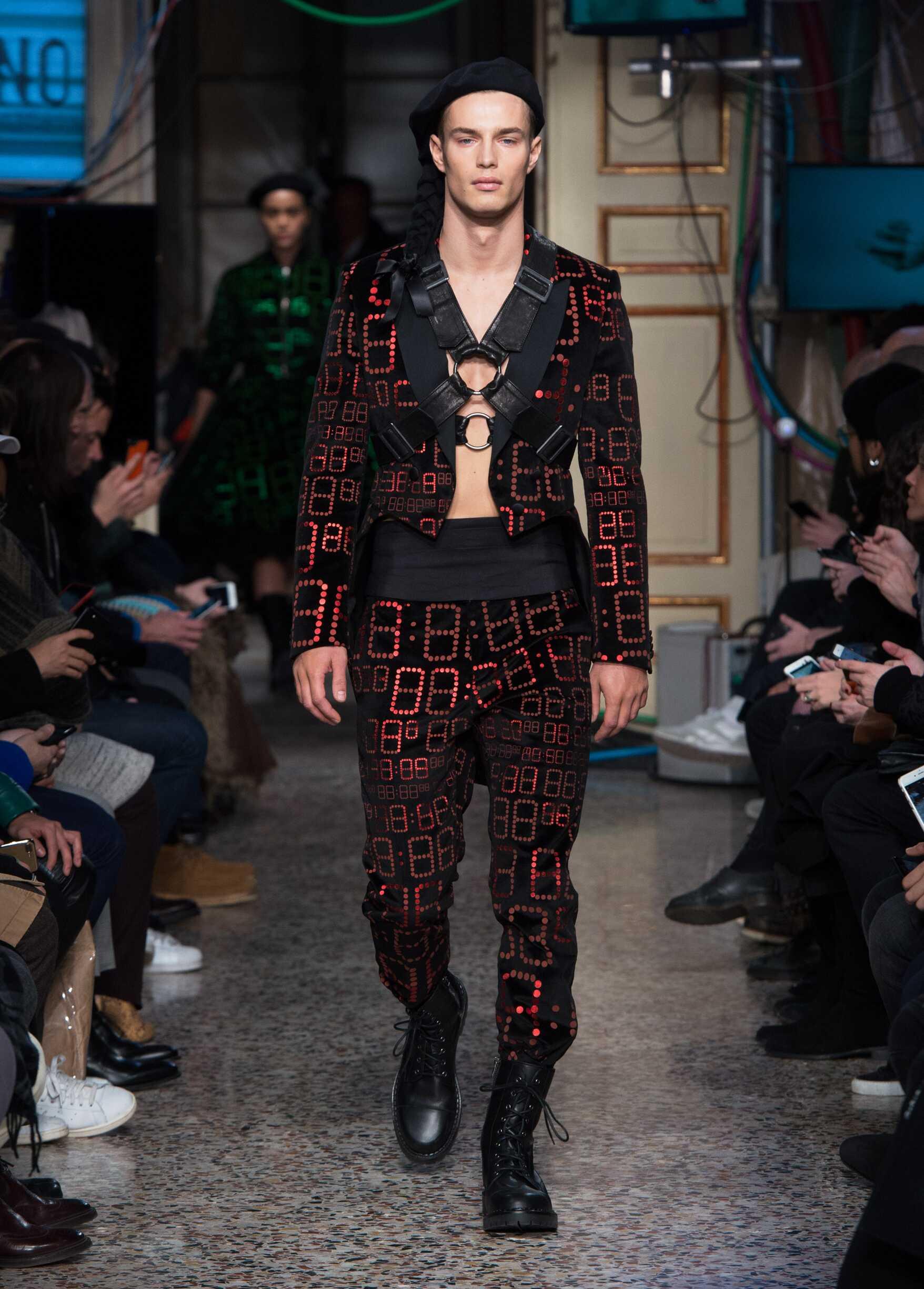 Winter 2017 Man Trends Moschino