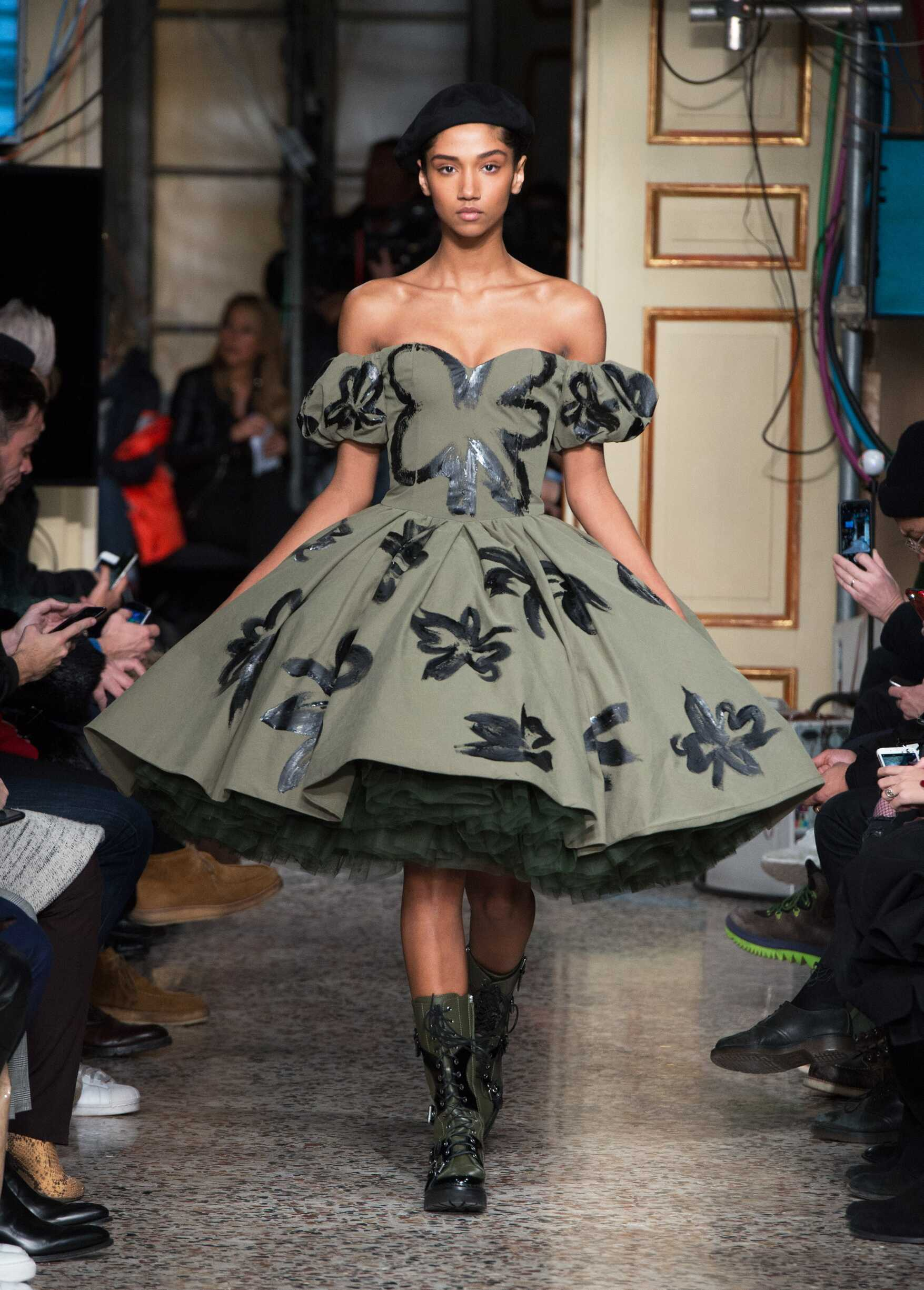 Woman Catwalk Moschino