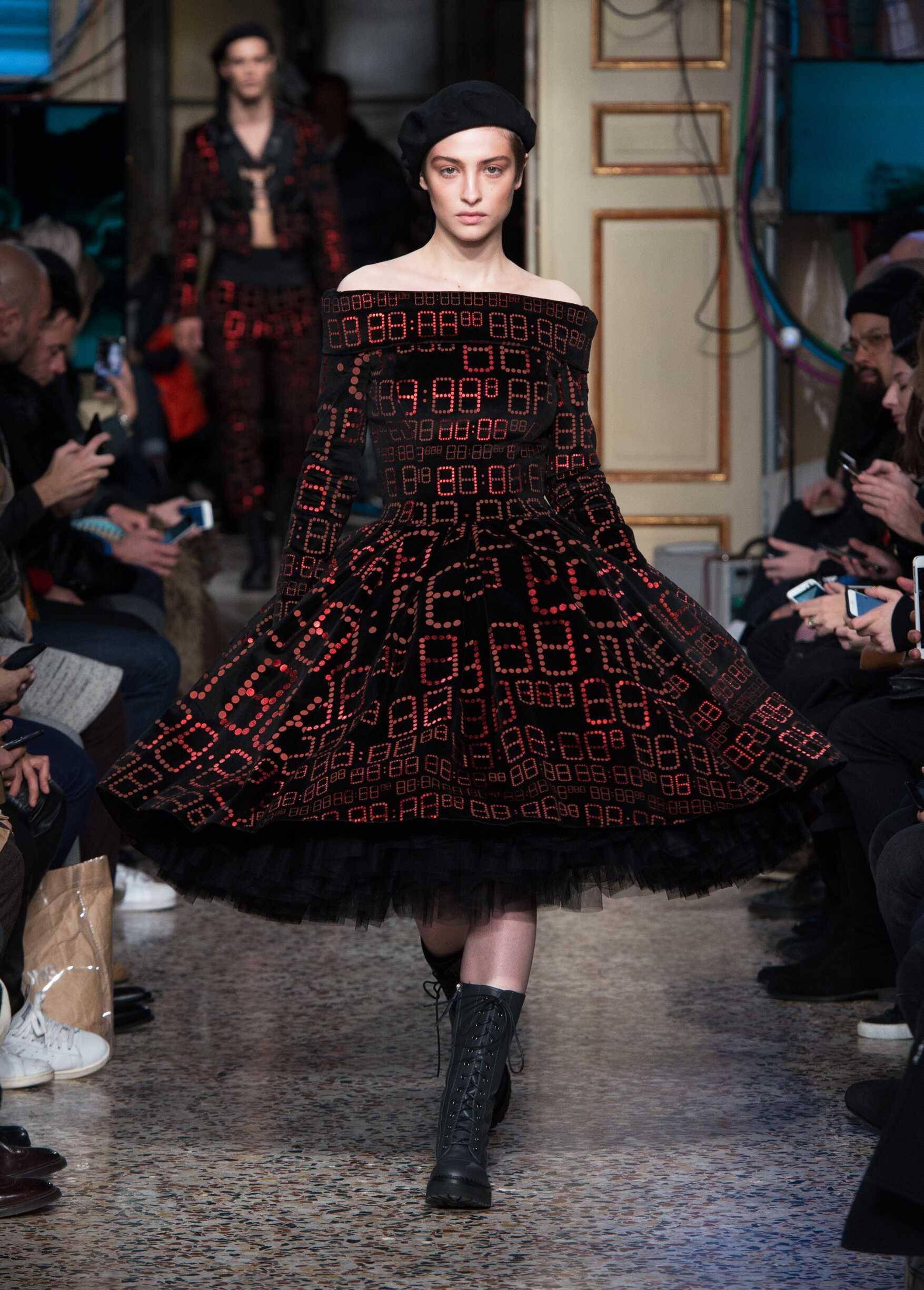 Woman Fall 2017 Fashion Trends Moschino