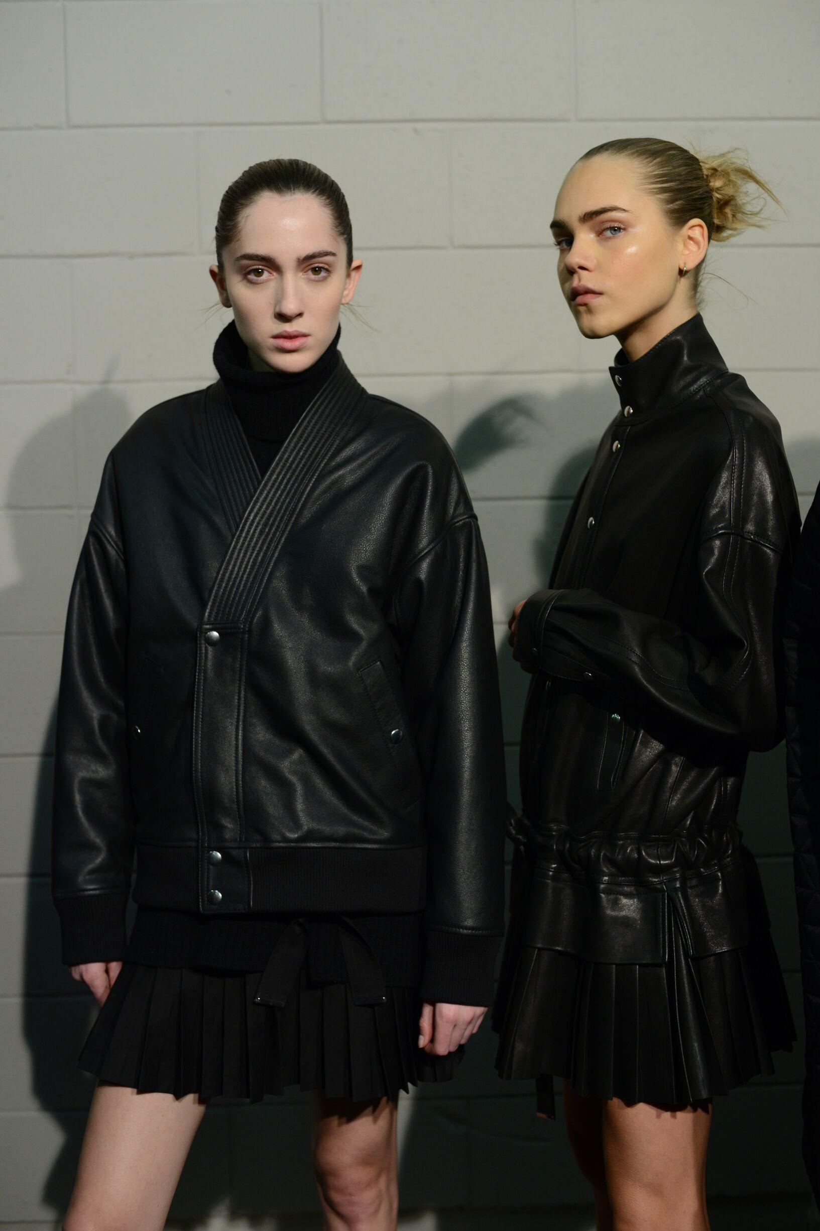 Women Models Diesel Black Gold Backstage
