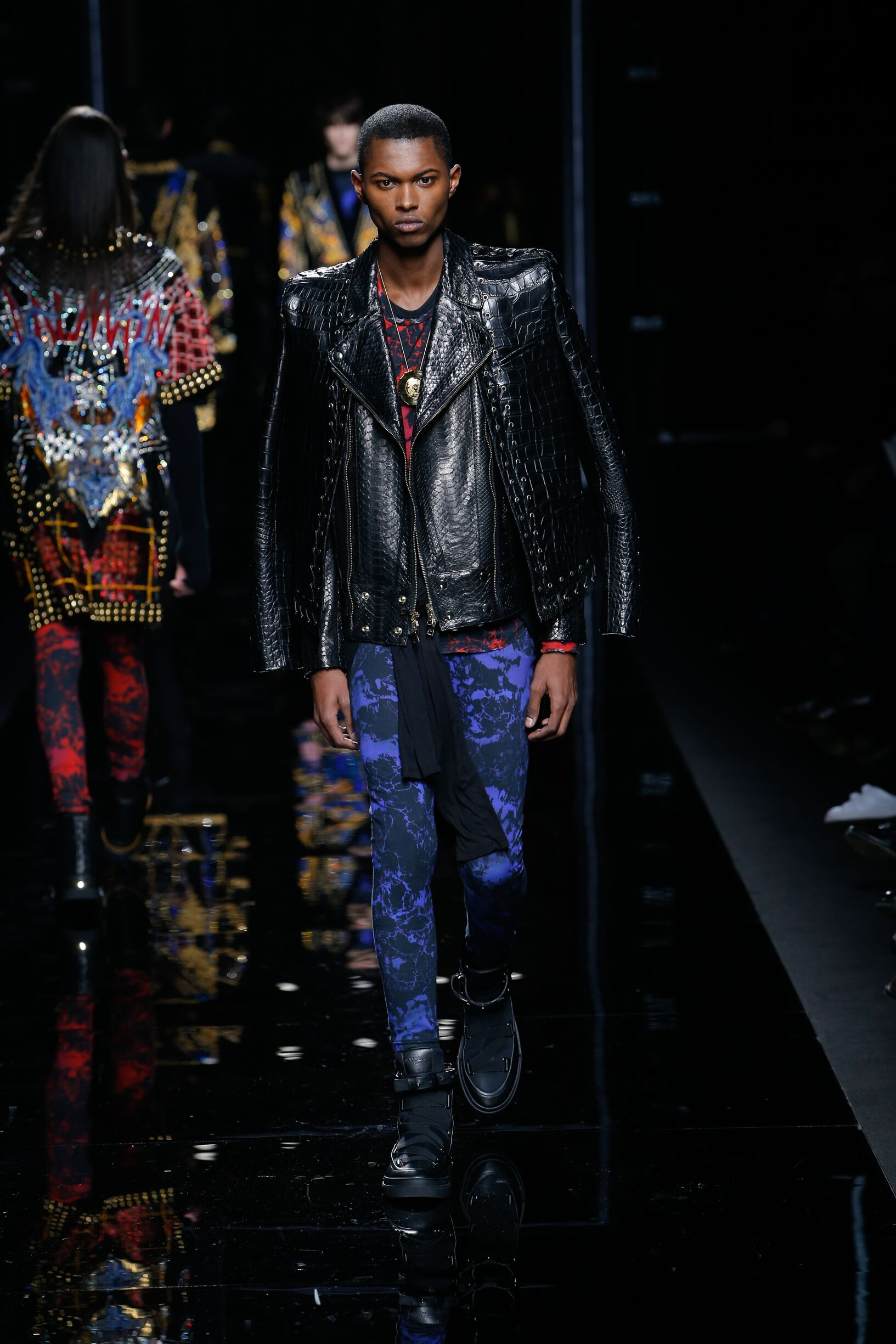 2017-18 Balmain Winter Catwalk Menswear