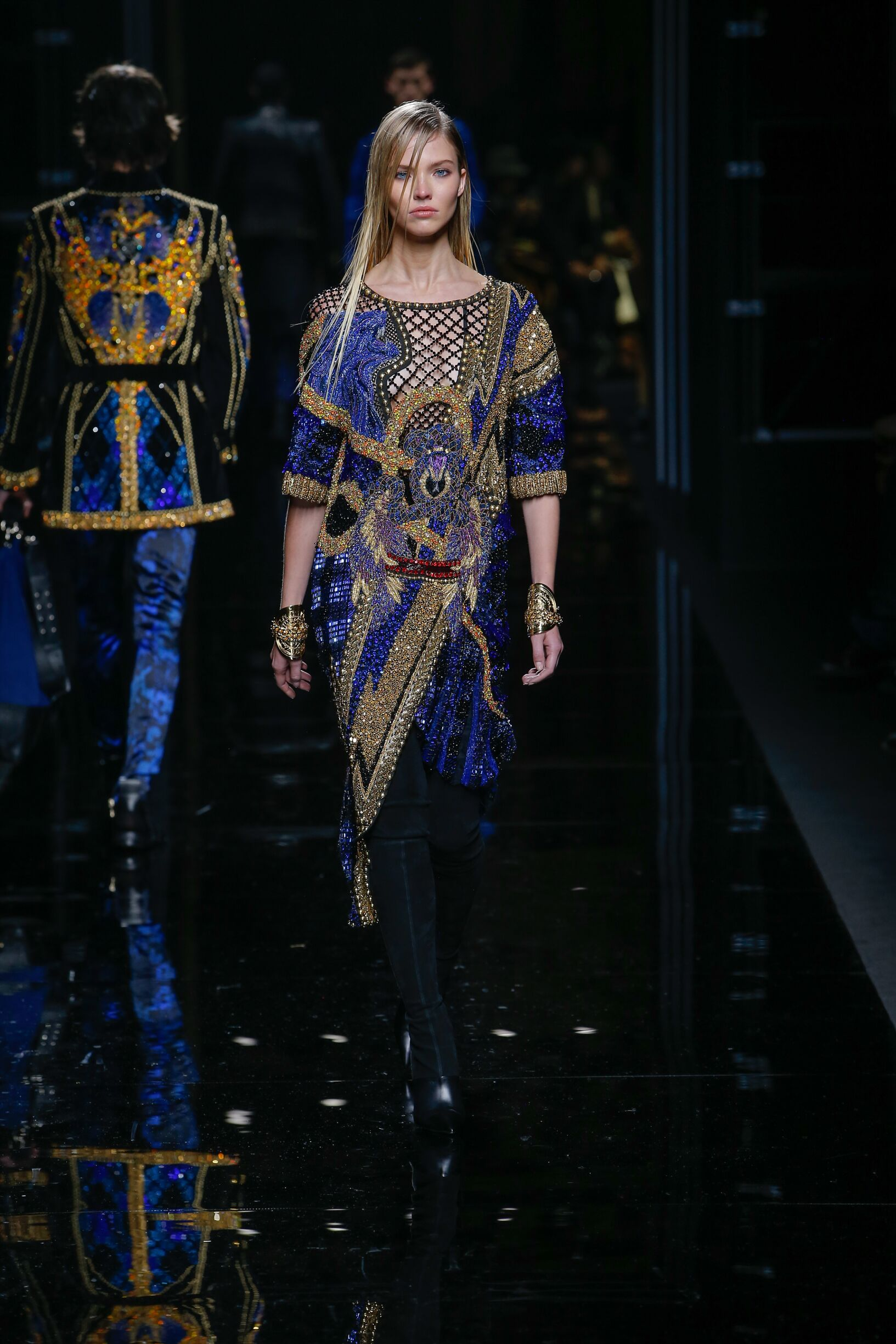 2017-18 Balmain Winter Catwalk Paris
