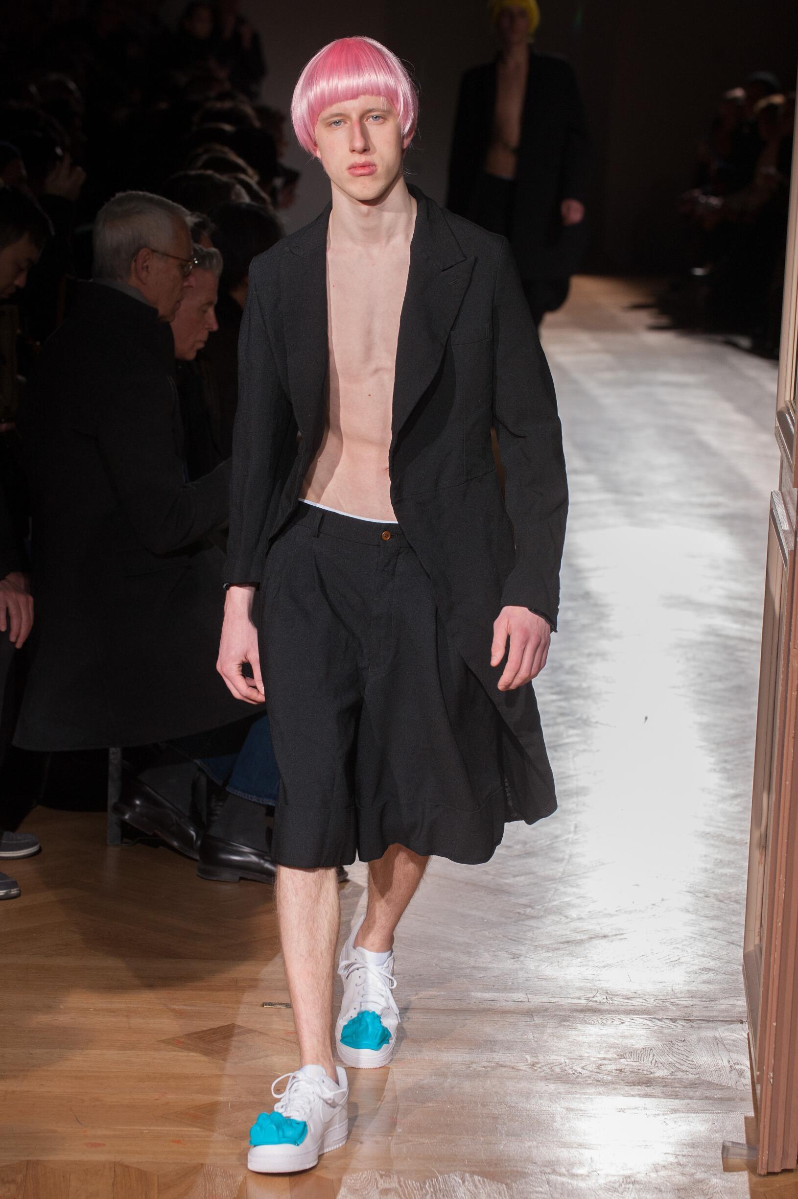 2017 Catwalk Comme des Garçons Homme Plus Winter