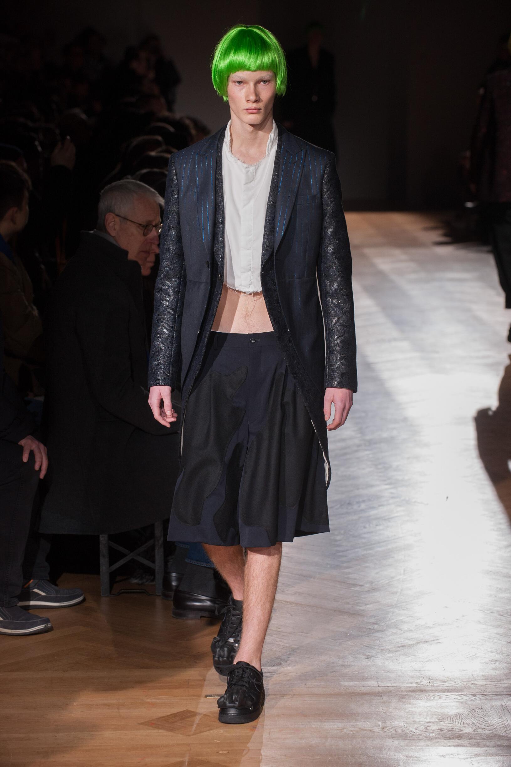 2017 Comme des Garçons Homme Plus Winter Catwalk