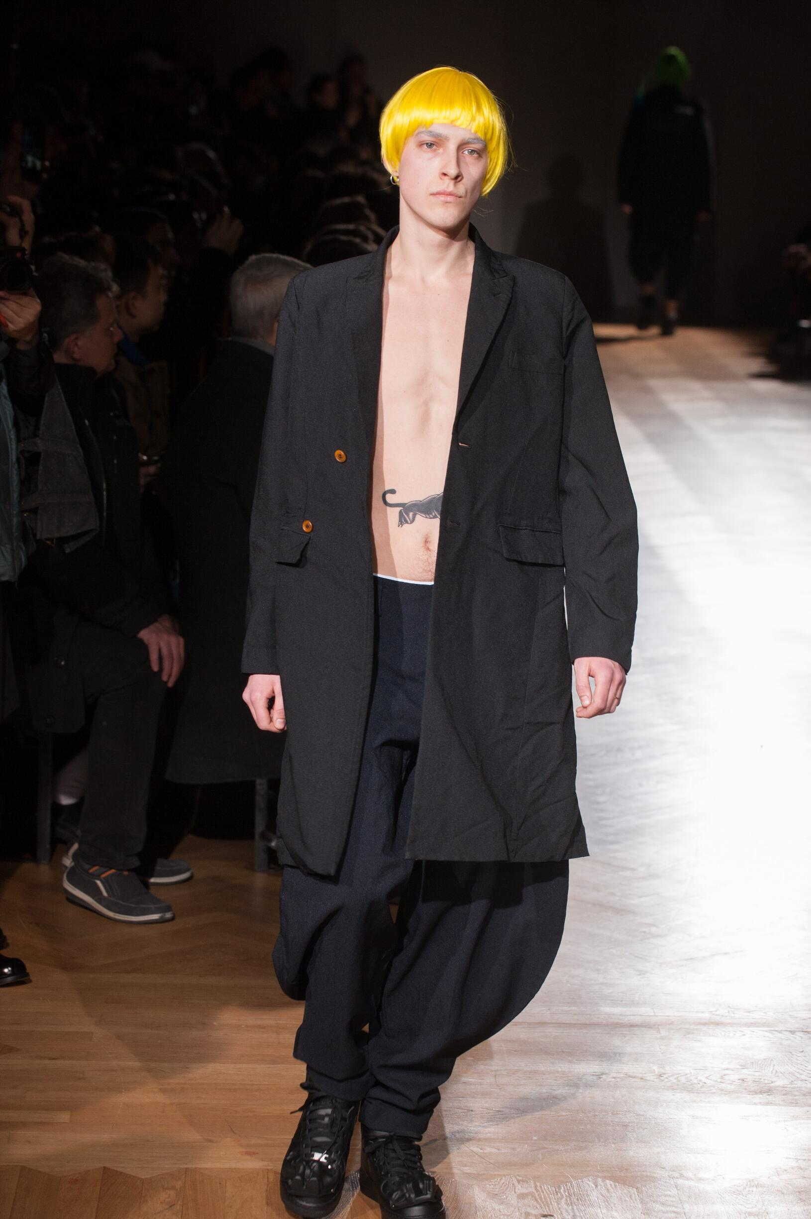 2017 Man Style Comme des Garçons Homme Plus