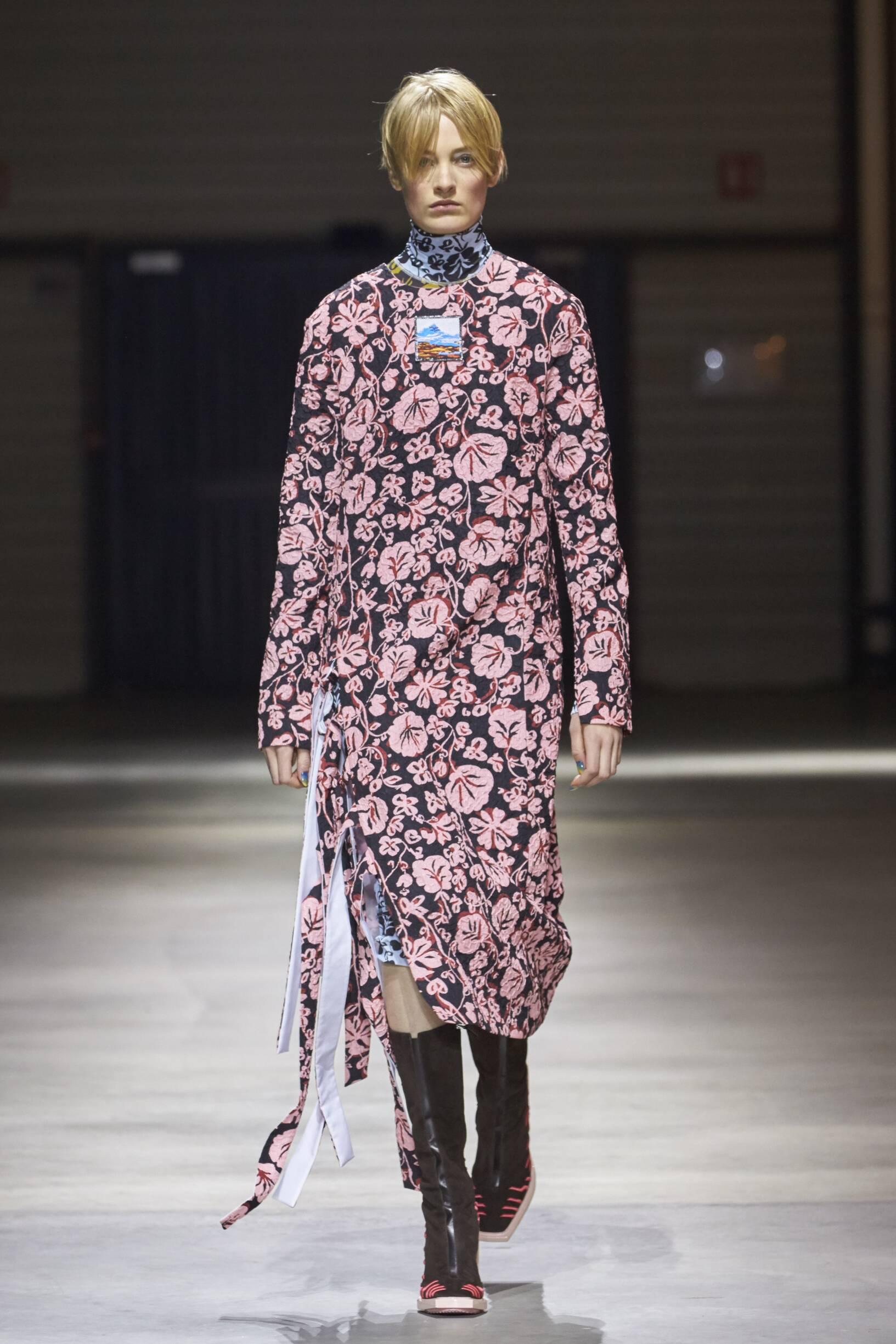 2017 Woman Catwalk Kenzo