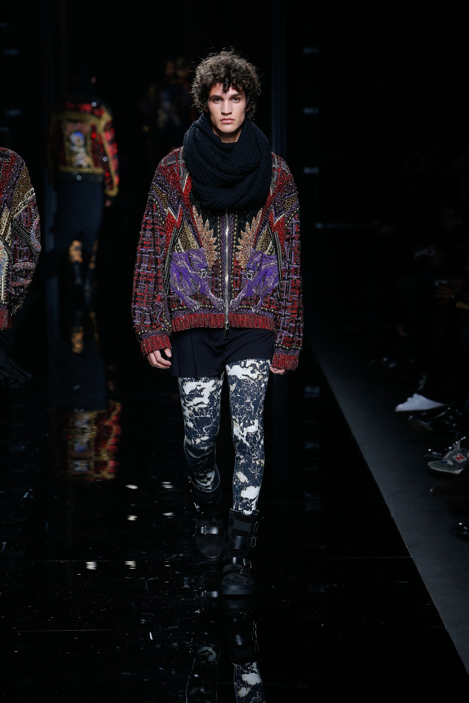 Balmain Fall 2018 Catwalk Mens Trend