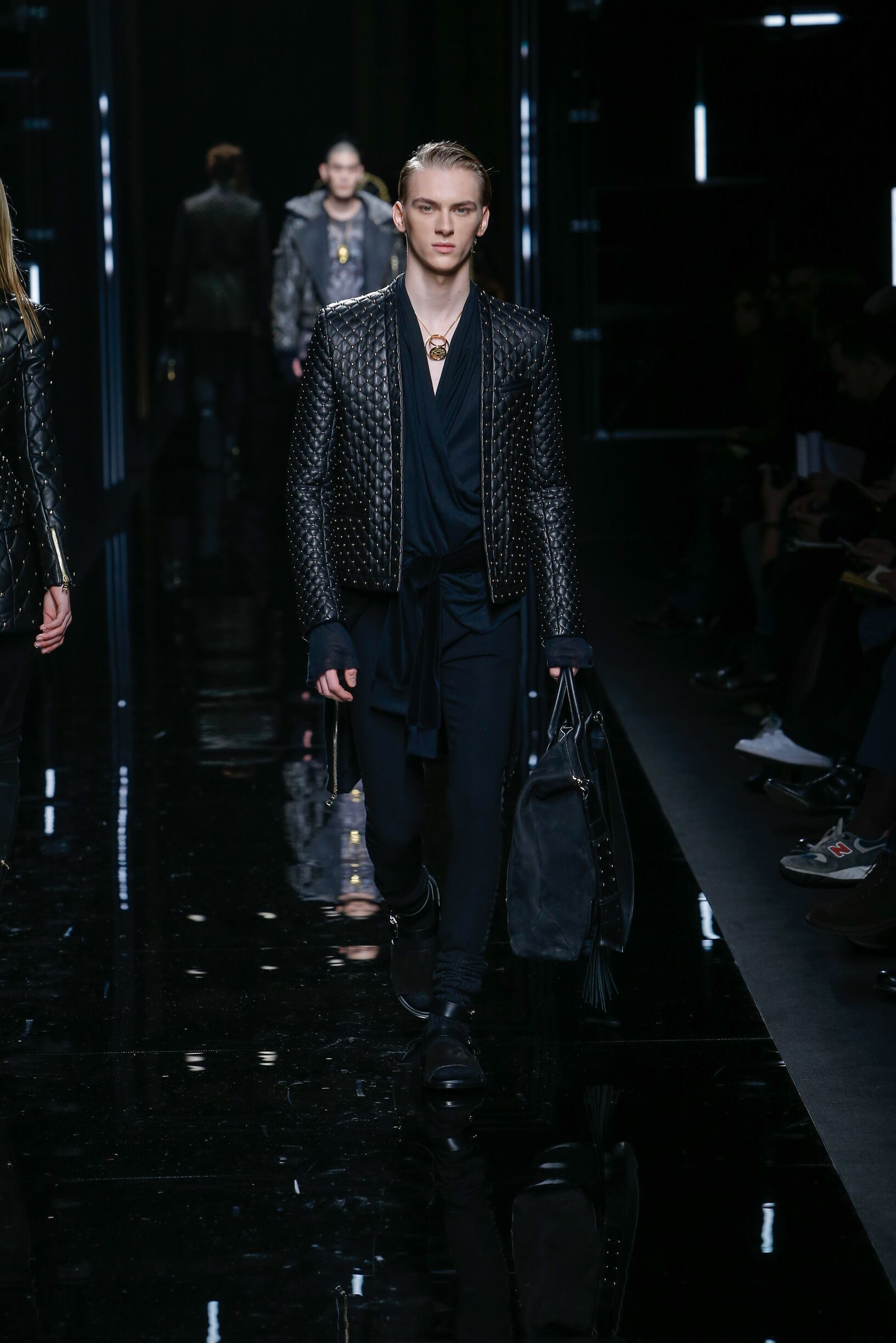 Balmain Fall 2018 Catwalk Menswear