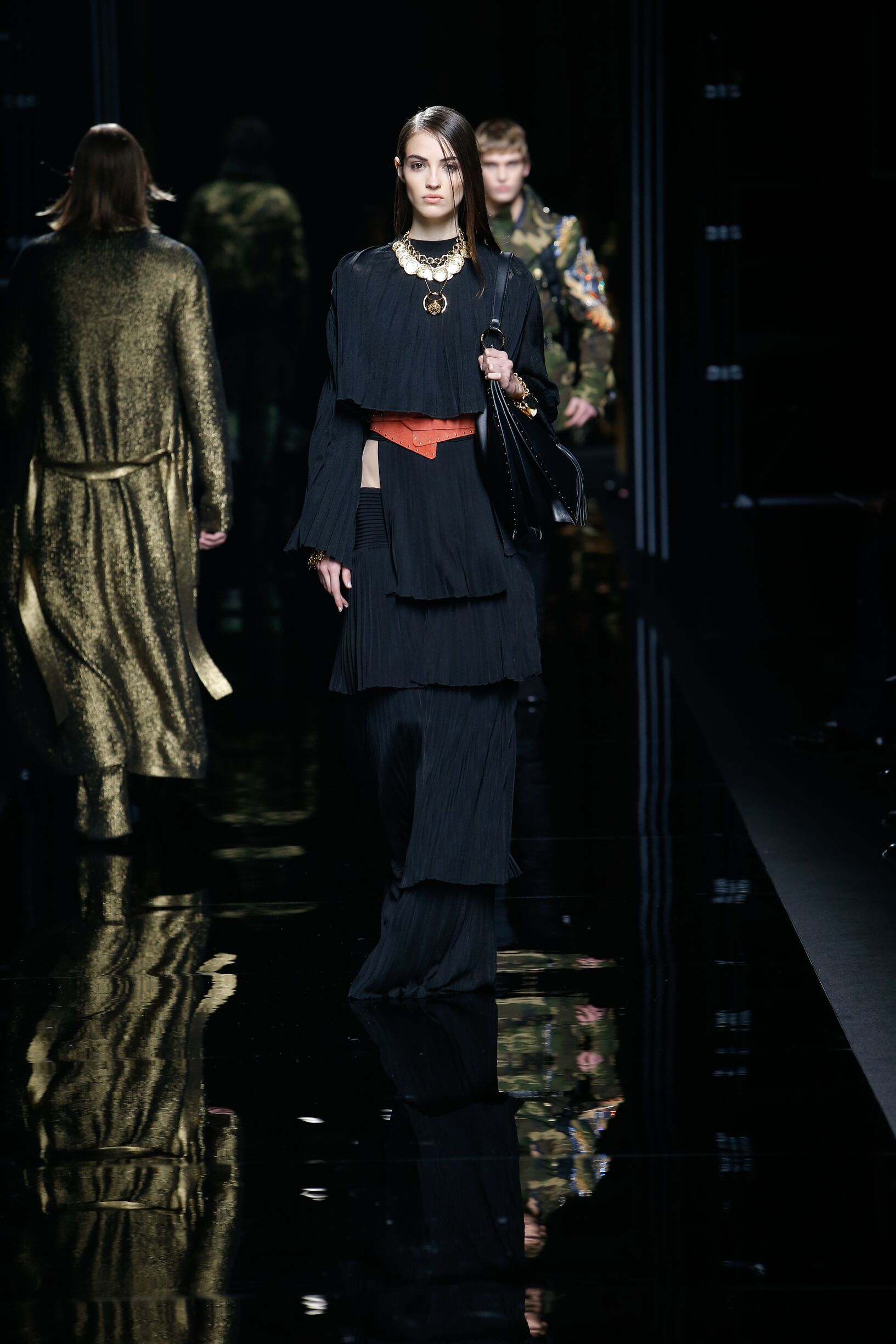 Balmain Fall Winter 2017 Womens Collection Paris Fashion Week