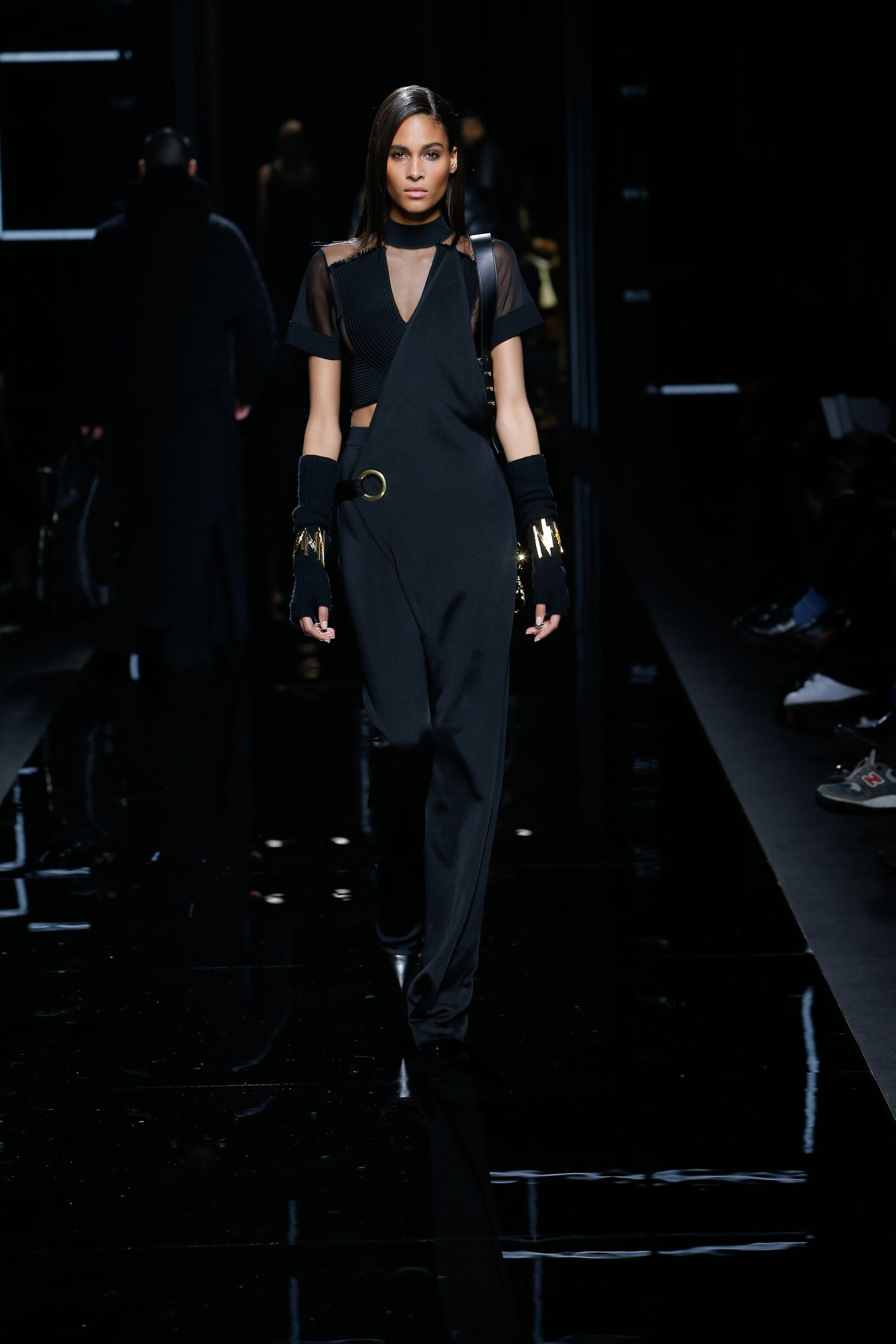 Balmain Woman Fall 2018 Catwalk