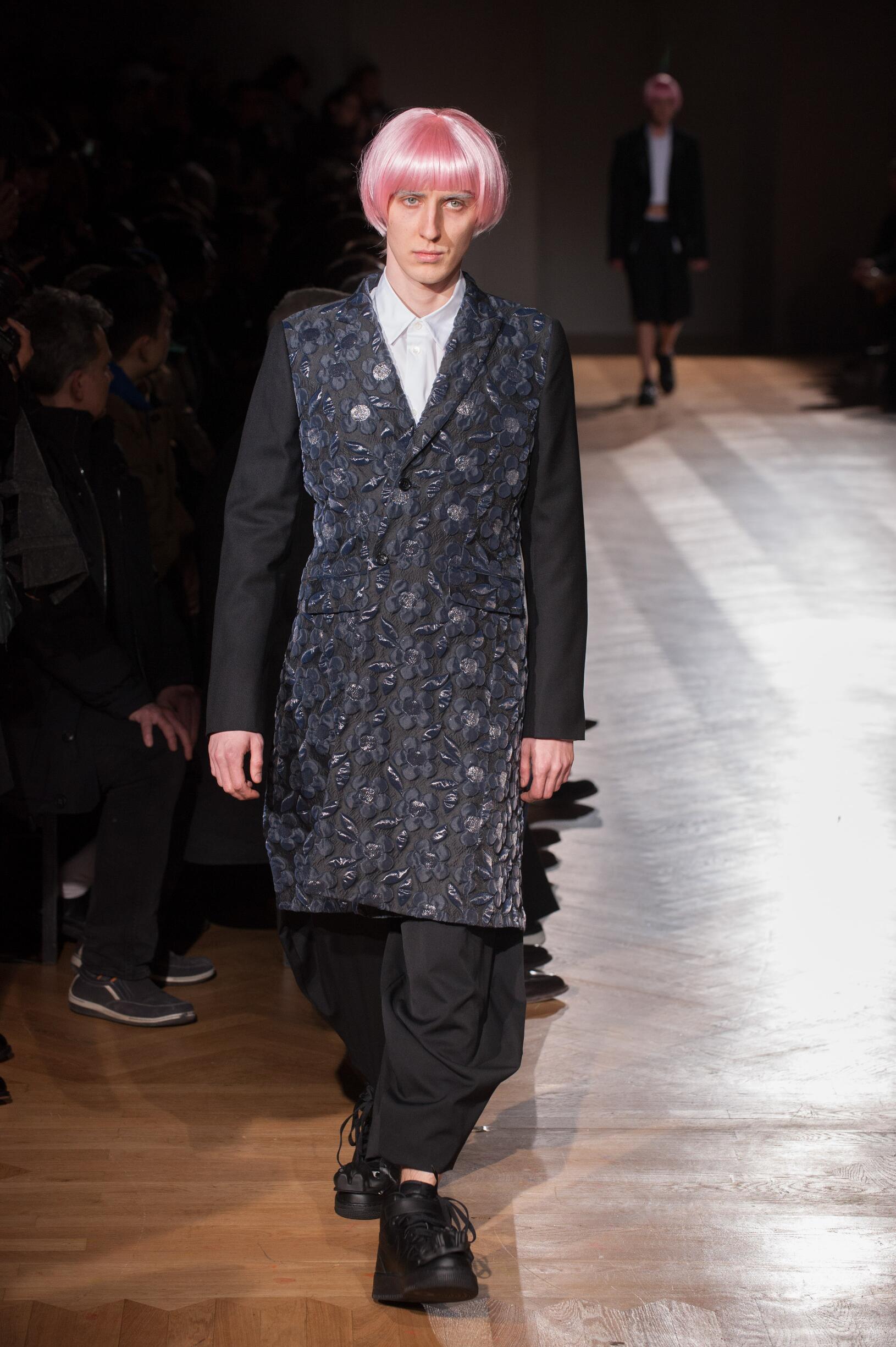 Catwalk Comme des Garçons Homme Plus Man Fashion Show Winter 2017