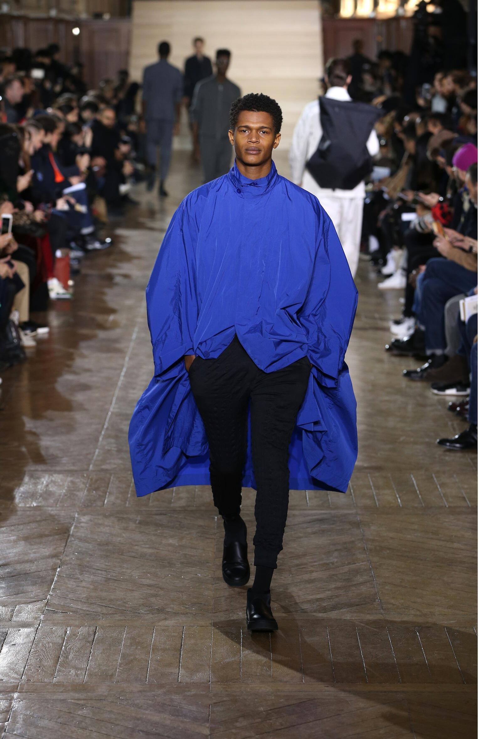 Catwalk Issey Miyake Man Fashion Show Winter 2017