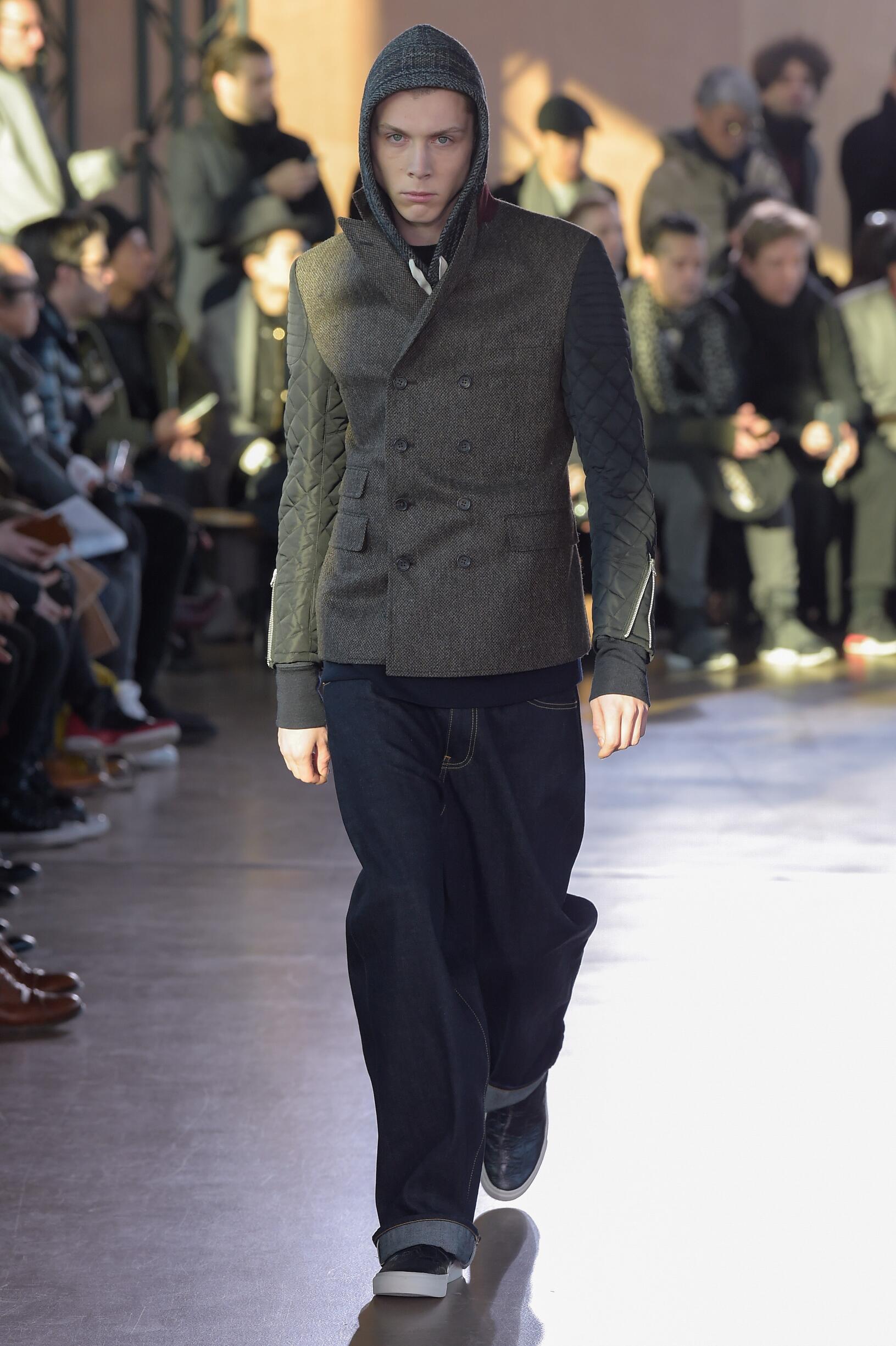 Catwalk Junya Watanabe Man Fashion Show Winter 2017