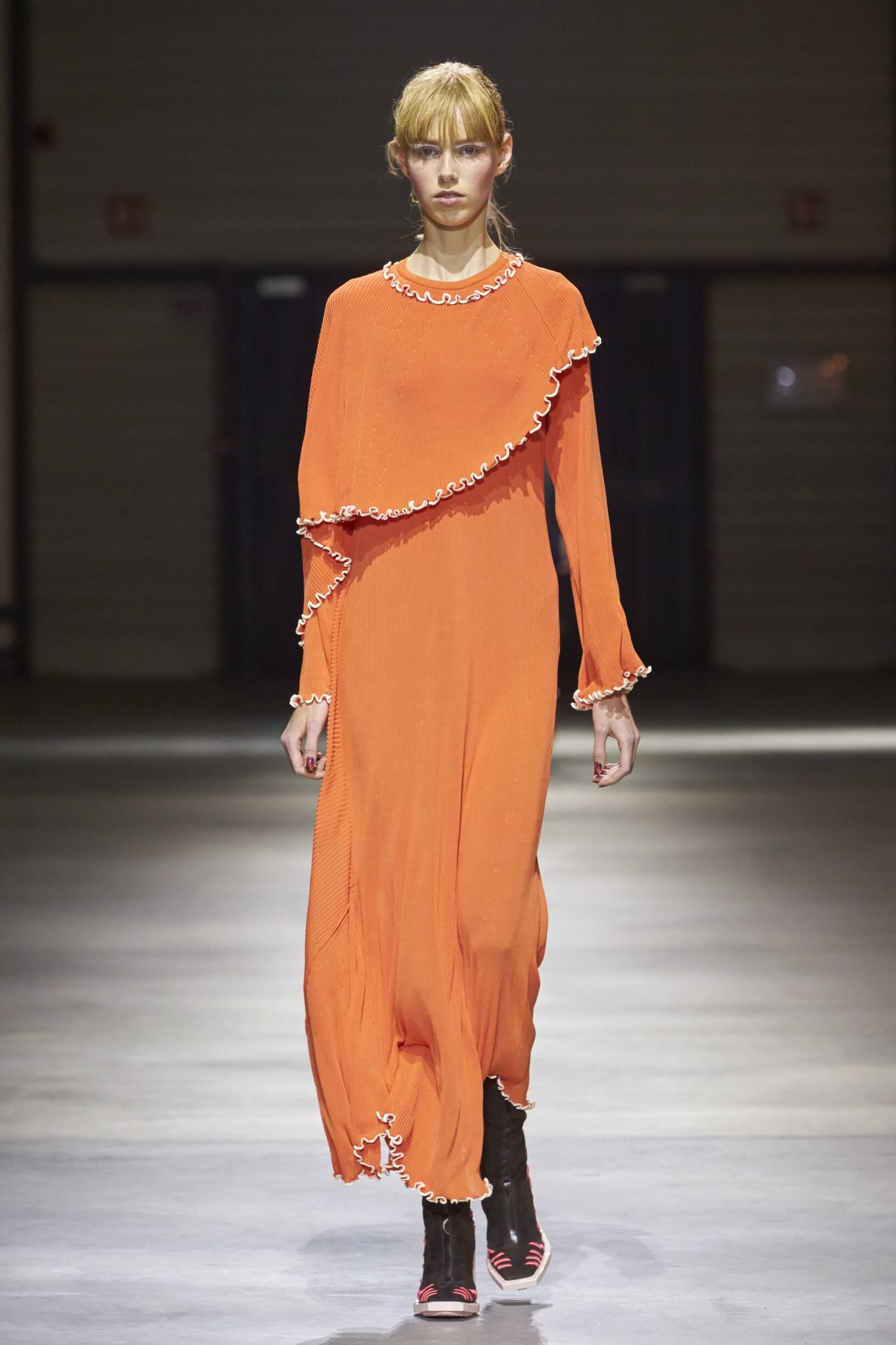 Catwalk Kenzo Woman Fashion Show Winter 2017