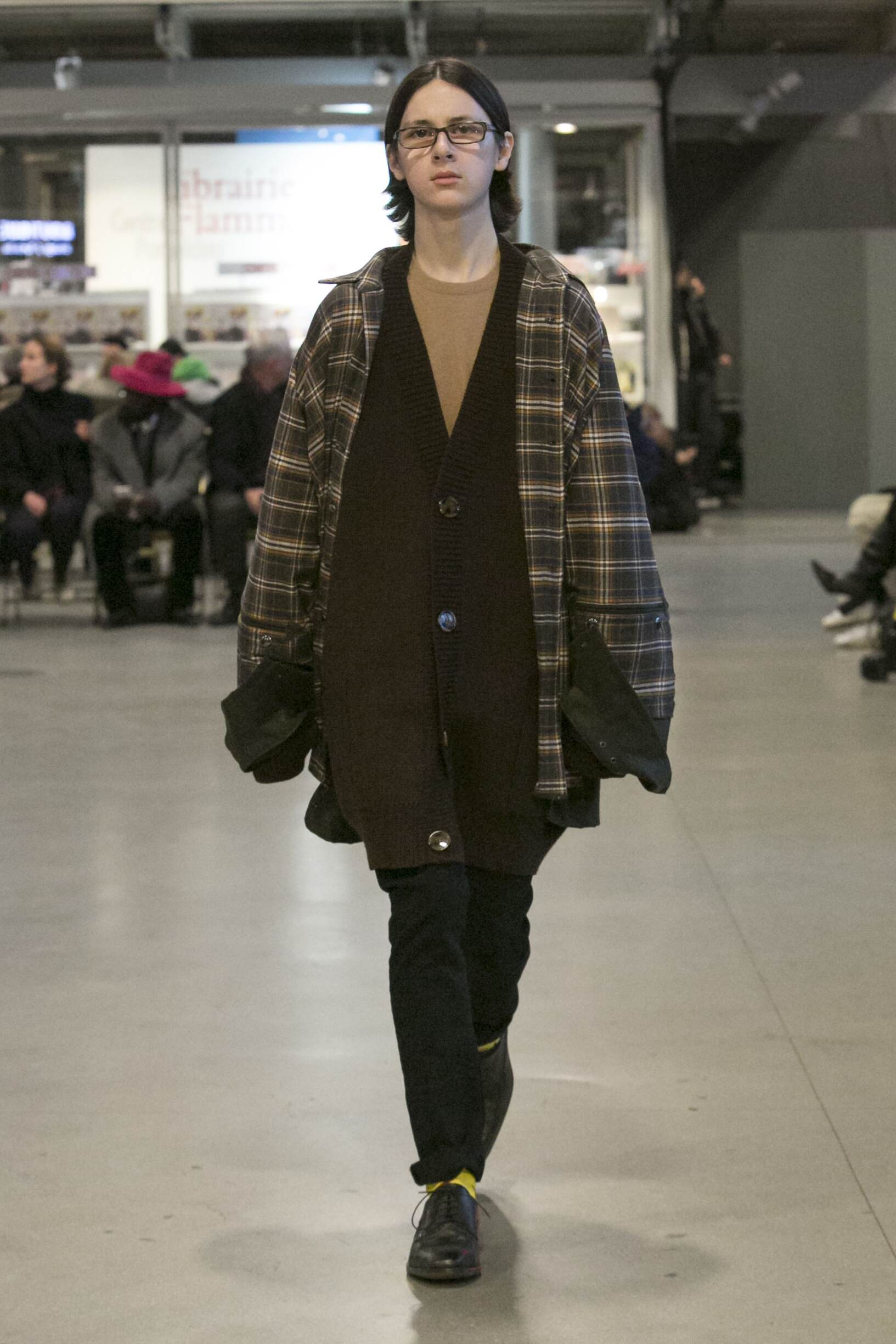 Catwalk Vetements Man Fashion Show Winter 2017