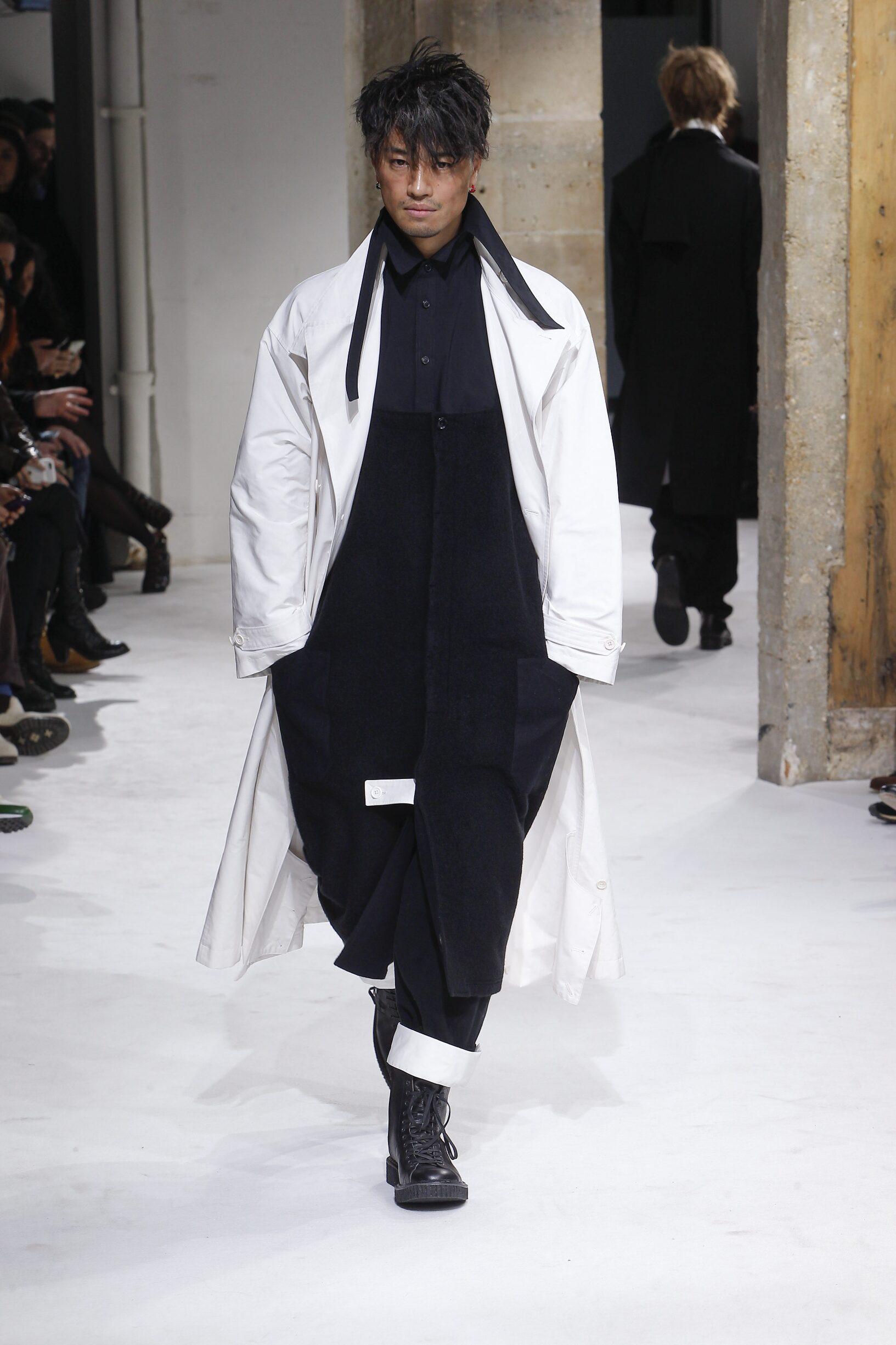 Catwalk Yohji Yamamoto Winter 2017