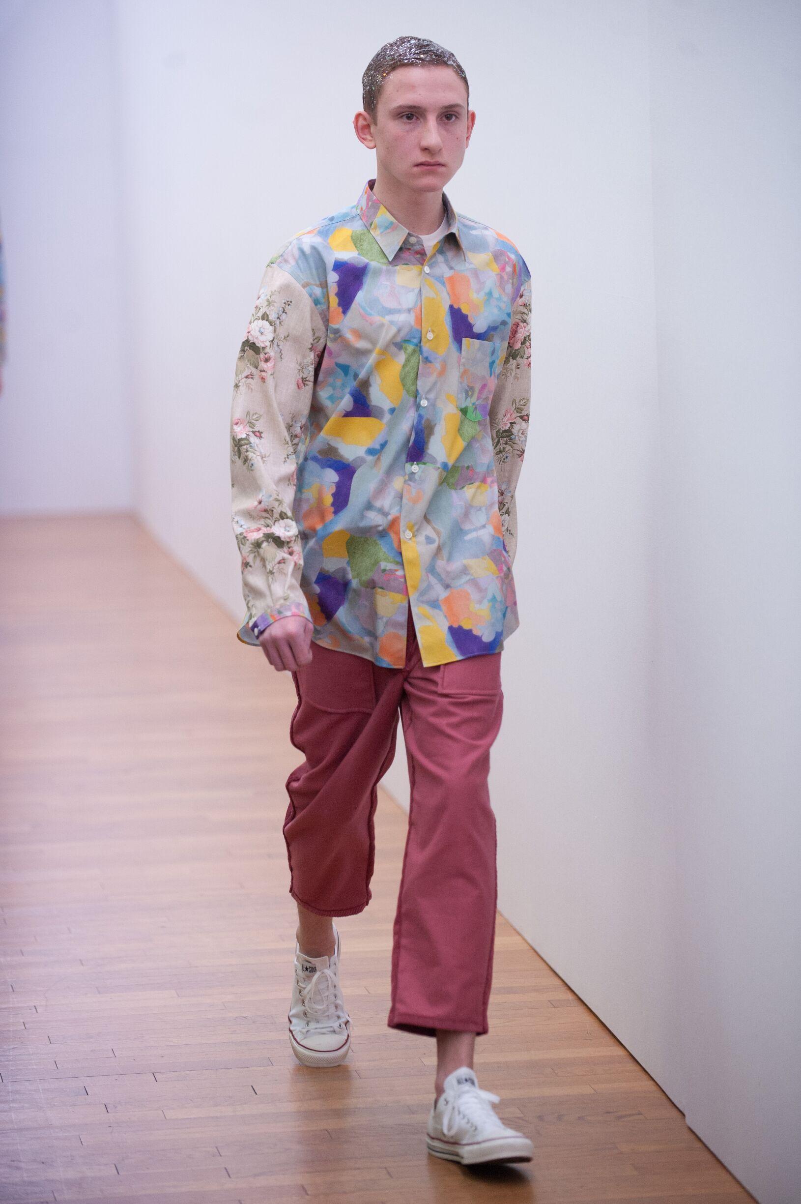 Comme Des Garçons Shirt Catwalk