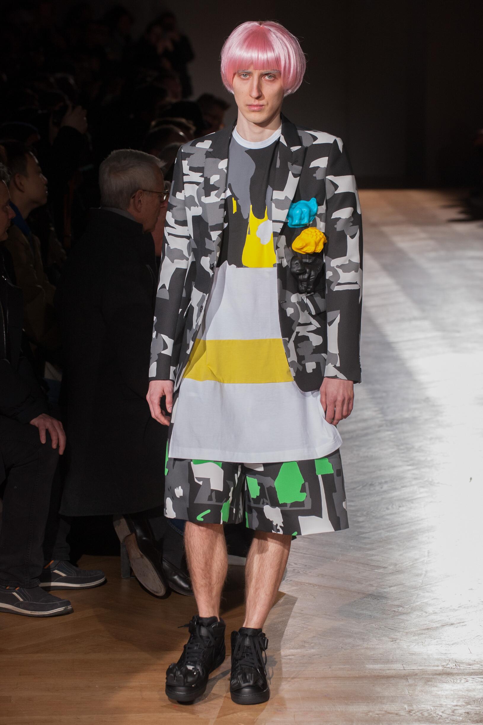Comme des Garçons Homme Plus FW 2017 Menswear