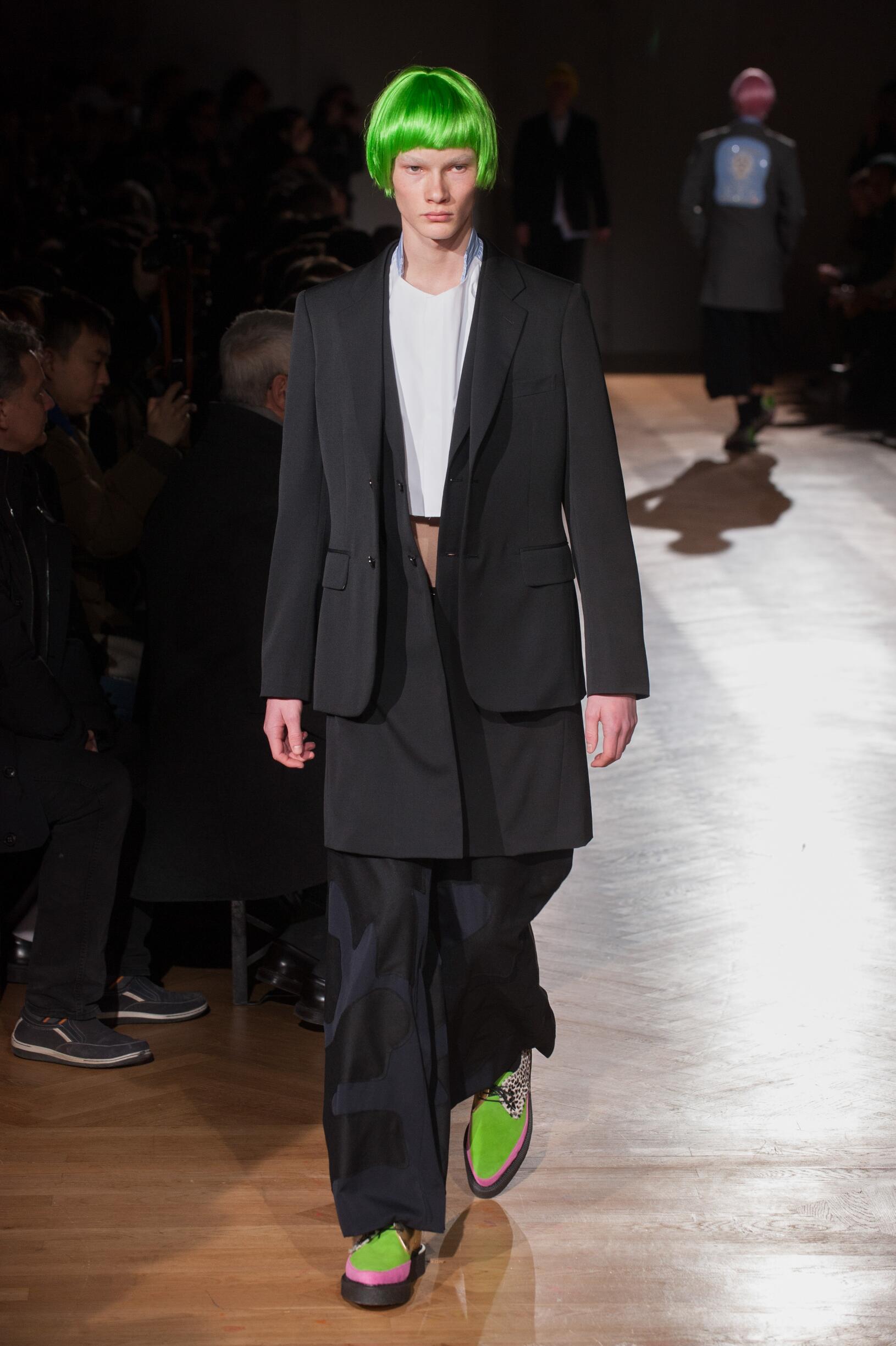 Comme des Garçons Homme Plus Fall Winter 2017 Mens Collection Paris Fashion Week