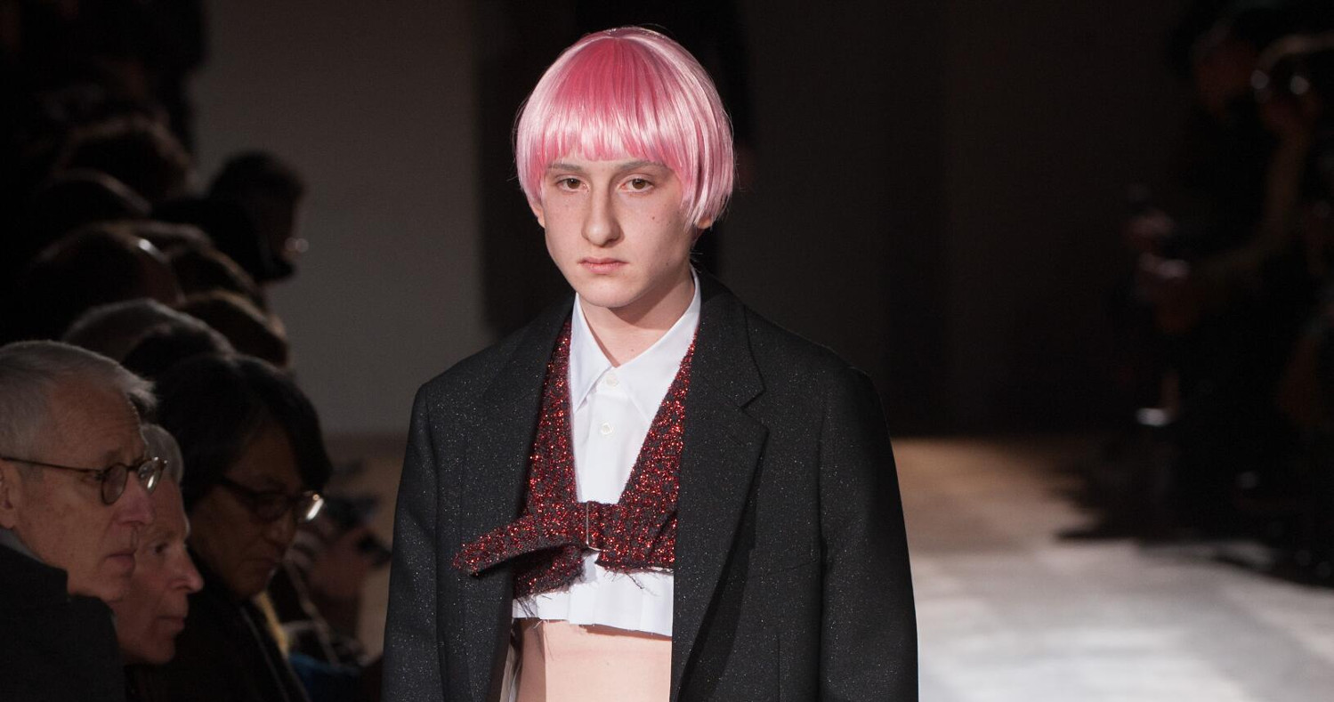 Comme des Garçons Homme Plus Fashion Show FW 2017 Paris