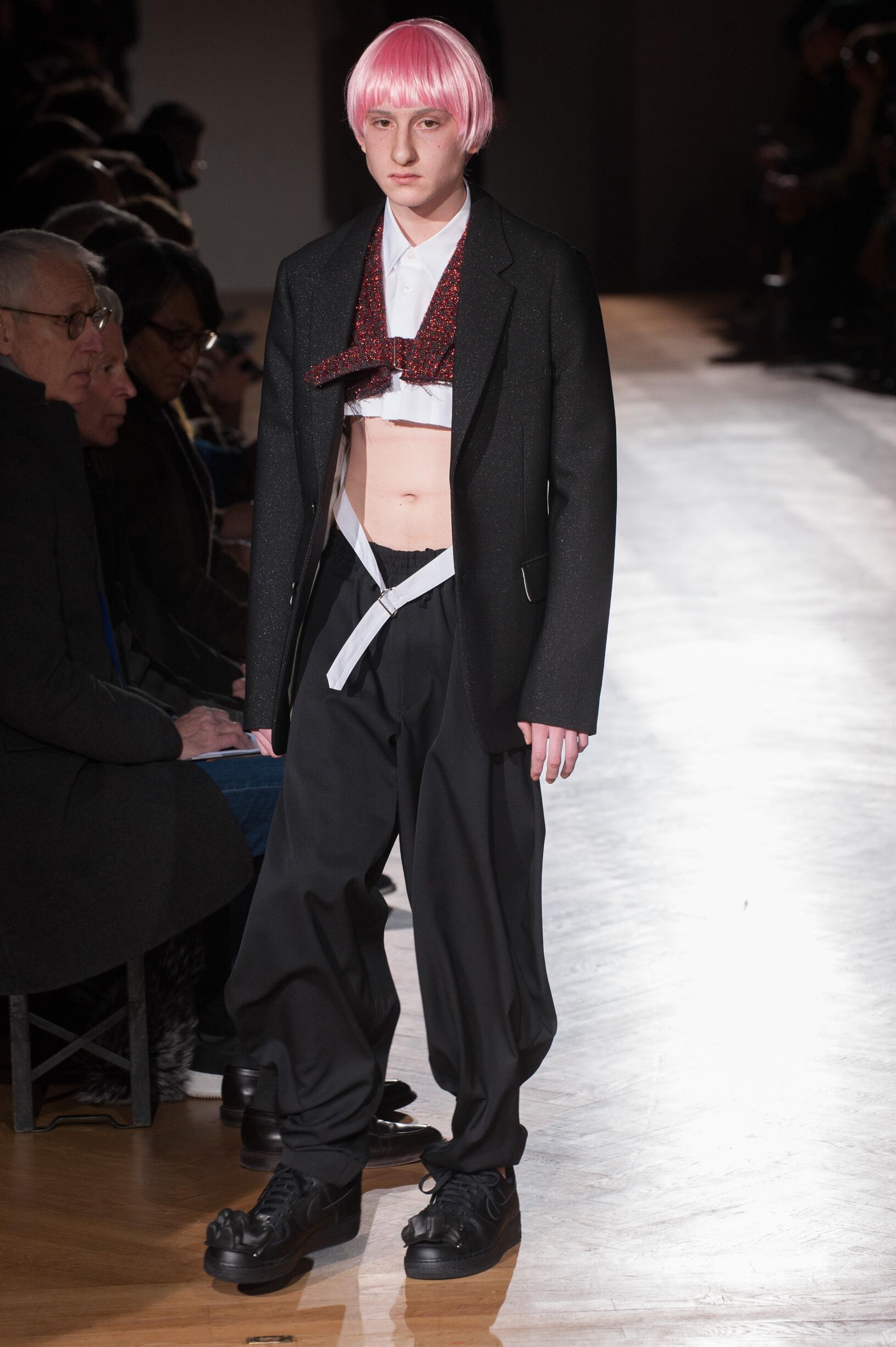 Comme des Garçons Homme Plus Fashion Show FW 2017