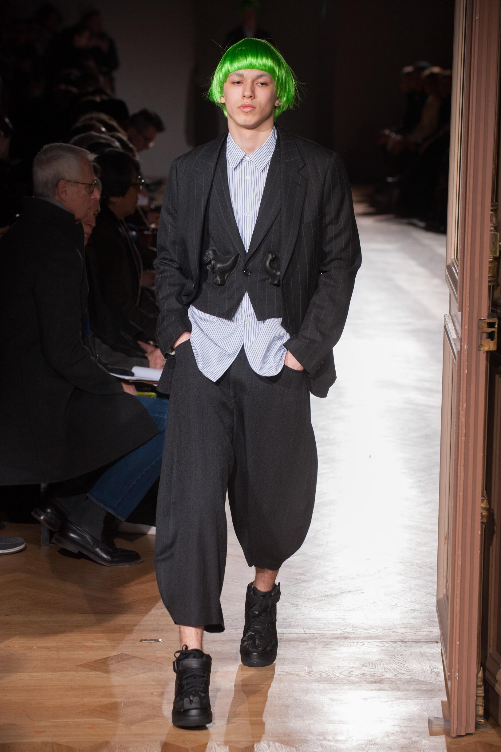 Comme des Garçons Homme Plus Fashion Show