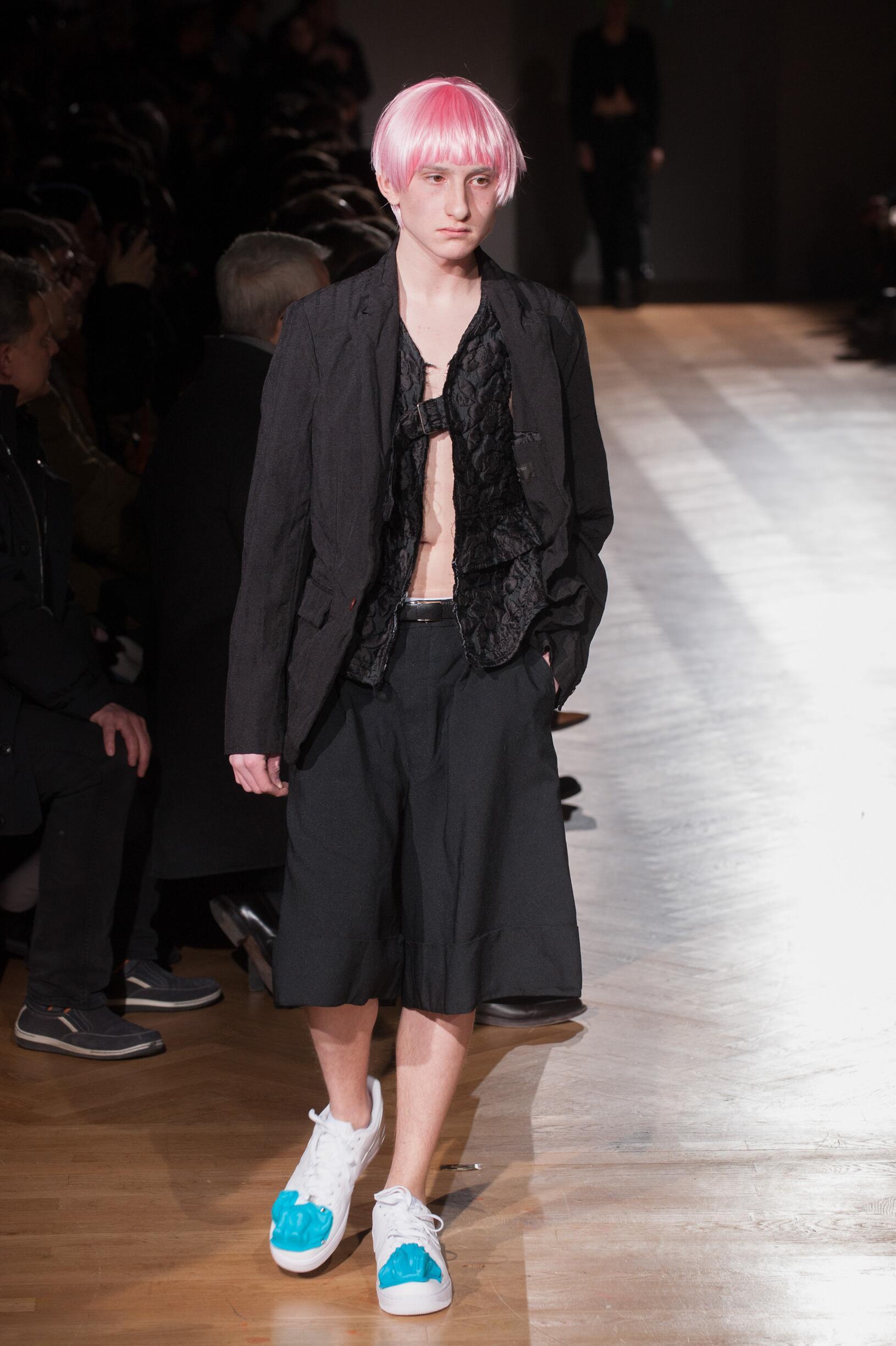 Comme des Garçons Homme Plus Paris Fashion Week