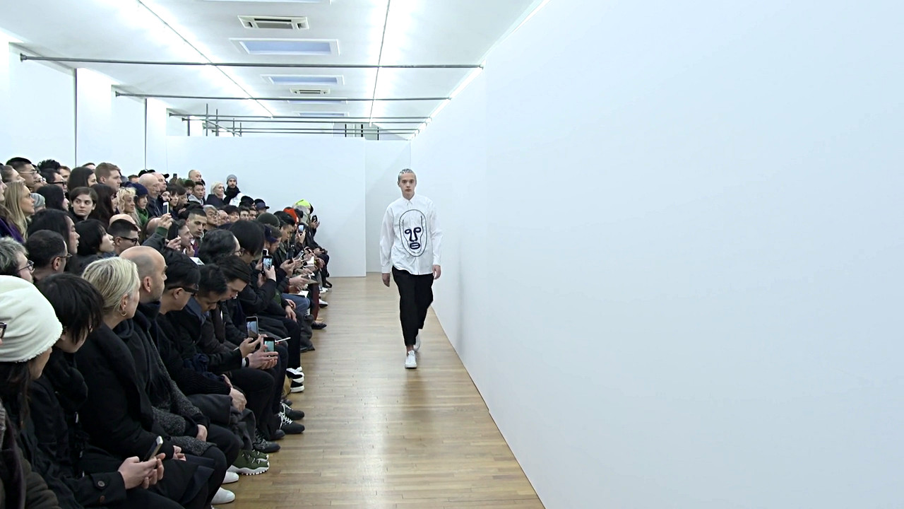 Comme des Garçons Shirt Fall Winter 2017-18 Fashion Show - Paris Fashion Week
