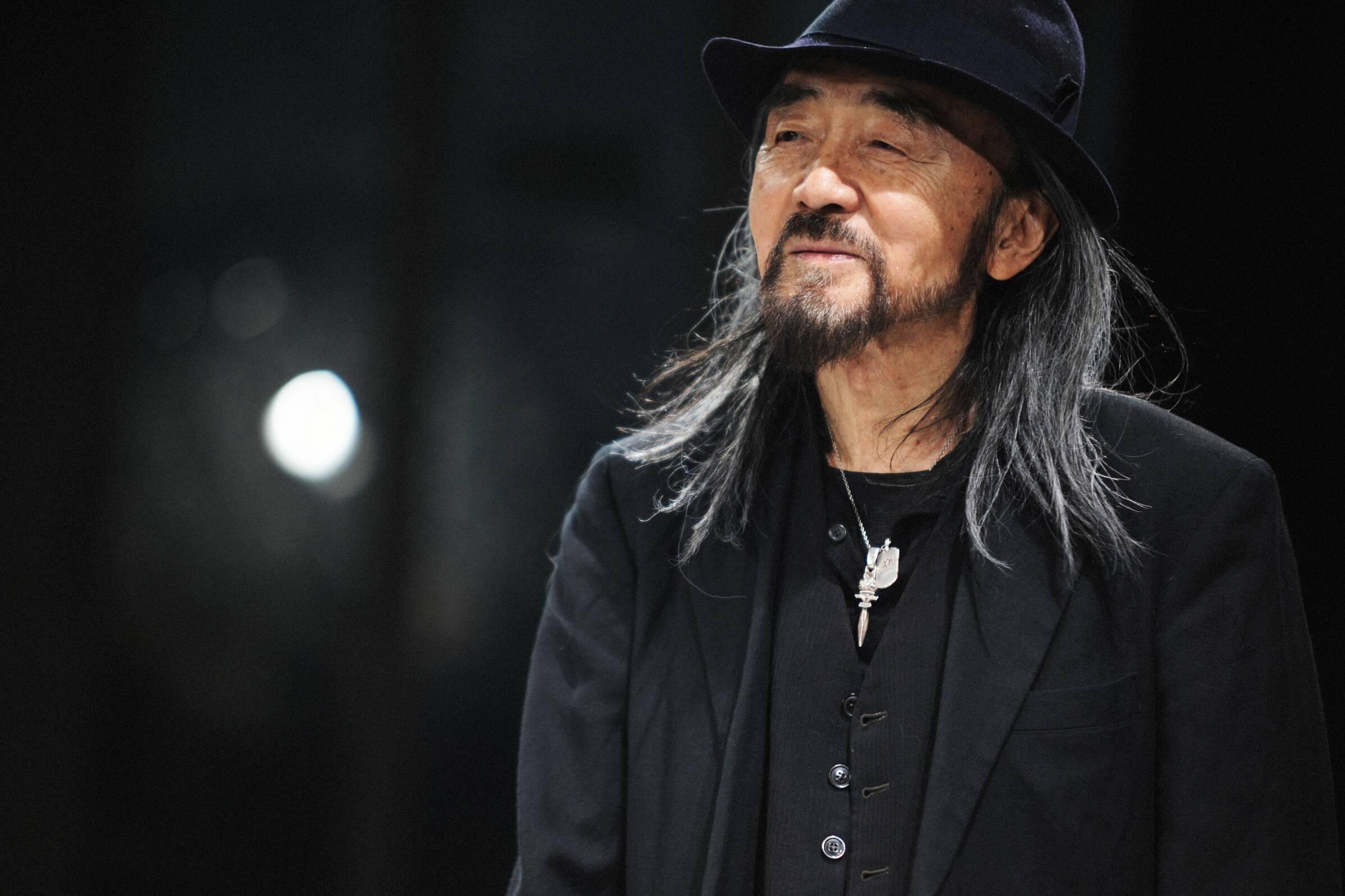 Designer Yohji Yamamoto
