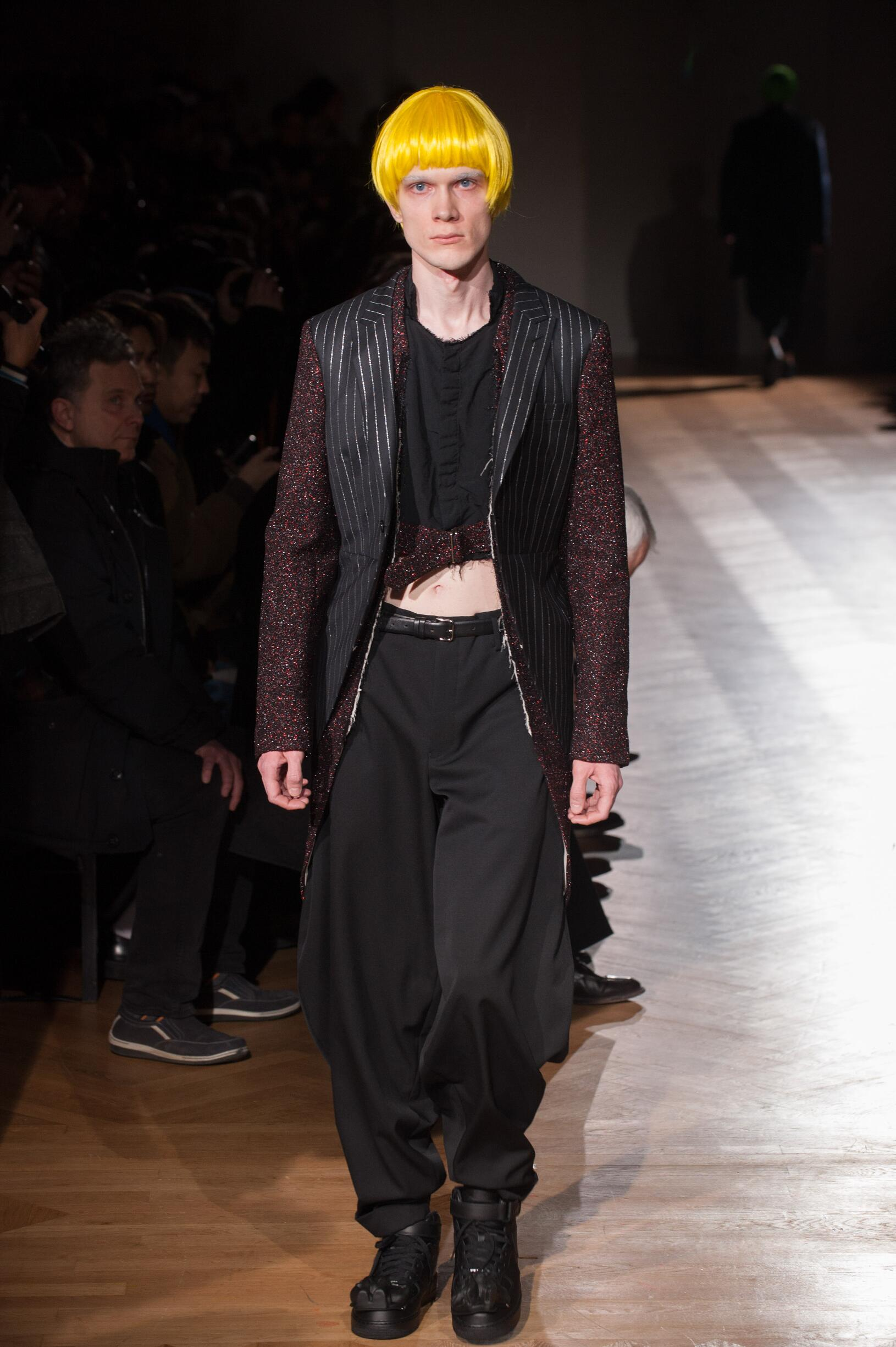 FW 2017-18 Comme des Garçons Homme Plus Fashion Show Paris