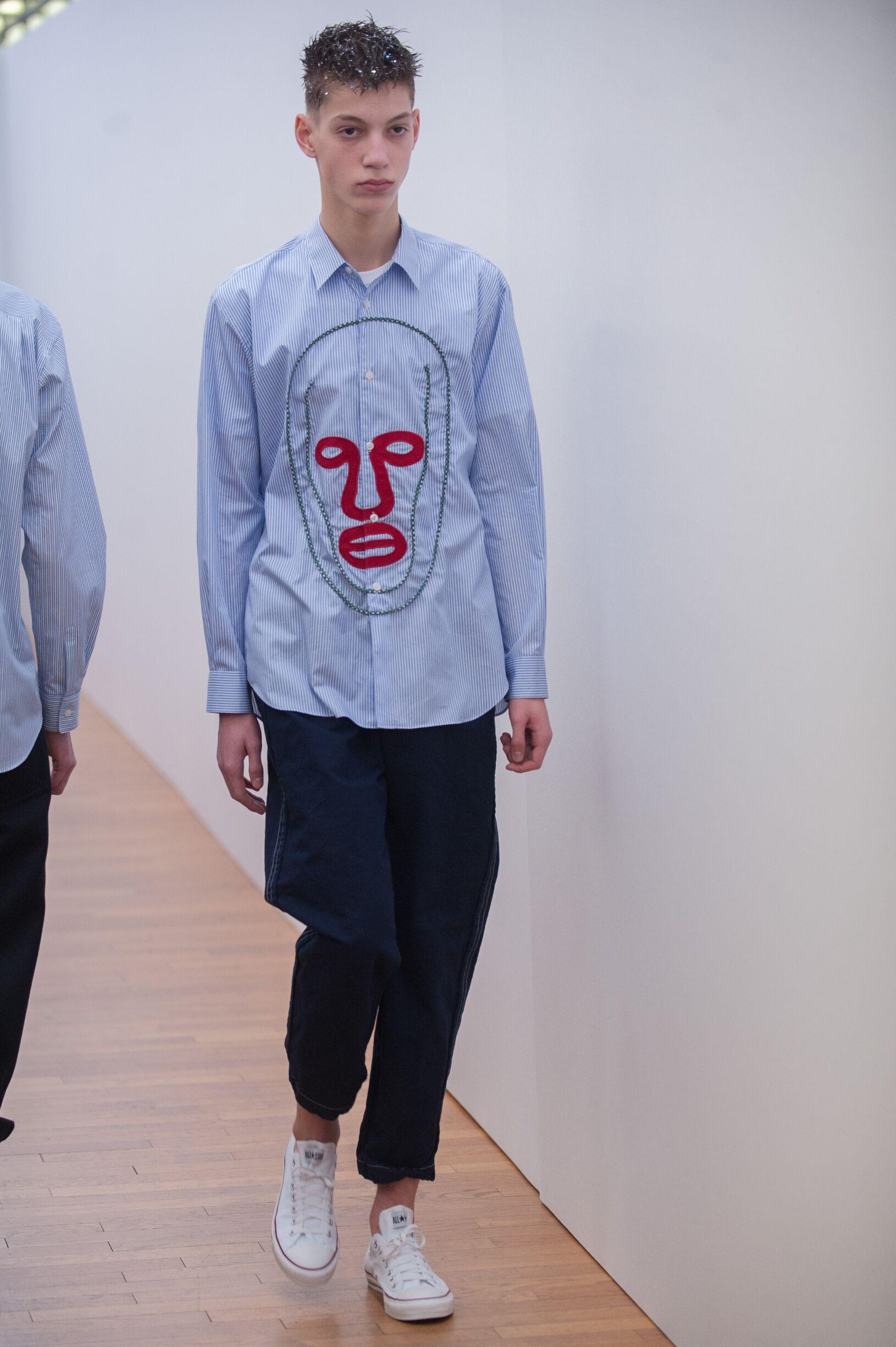 FW 2017-18 Fashion Show Comme Des Garçons Shirt