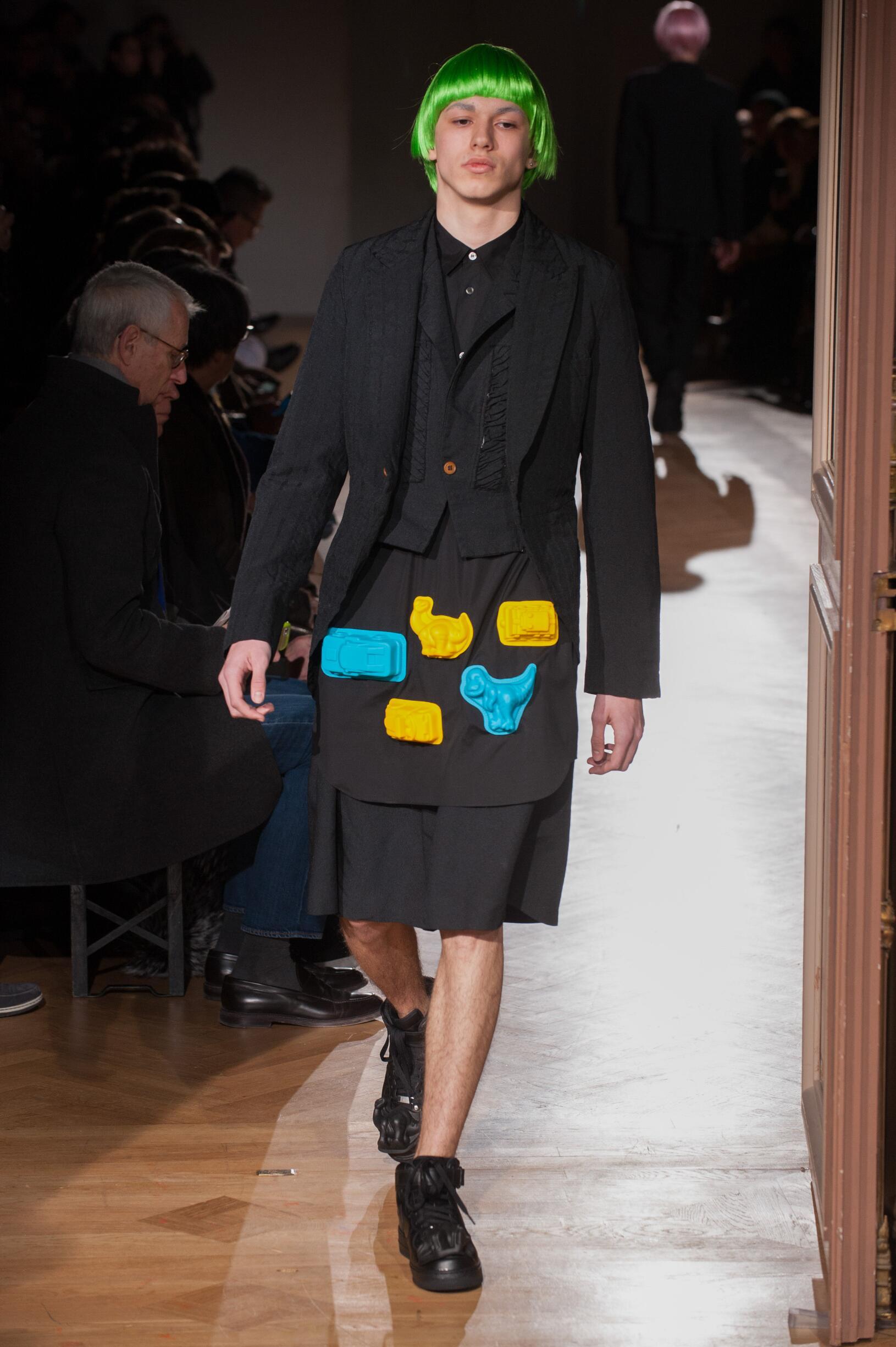 FW 2017-18 Fashion Show Comme des Garçons Homme Plus