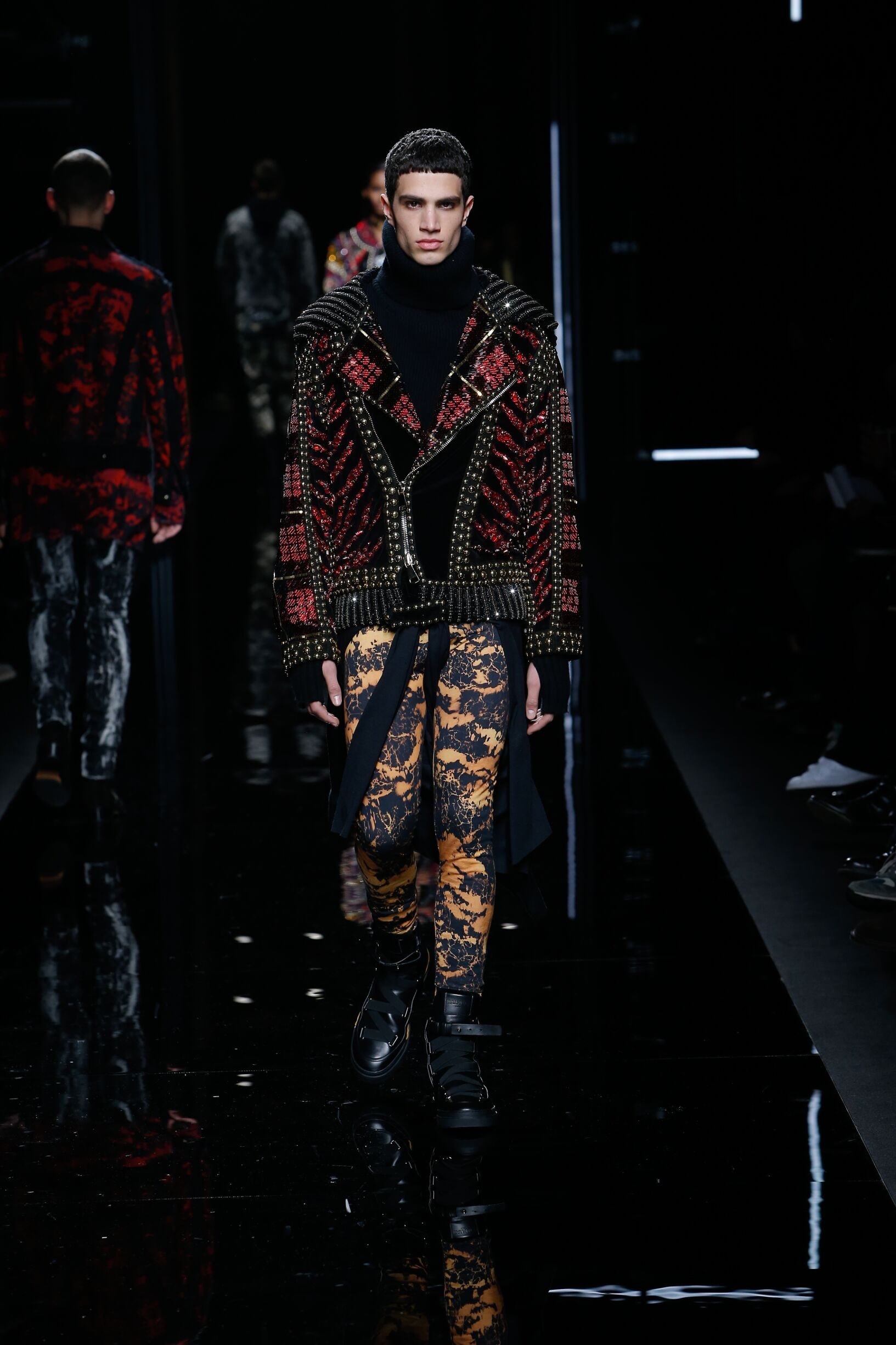 FW 2017-2018 Balmain Fashion Show Paris