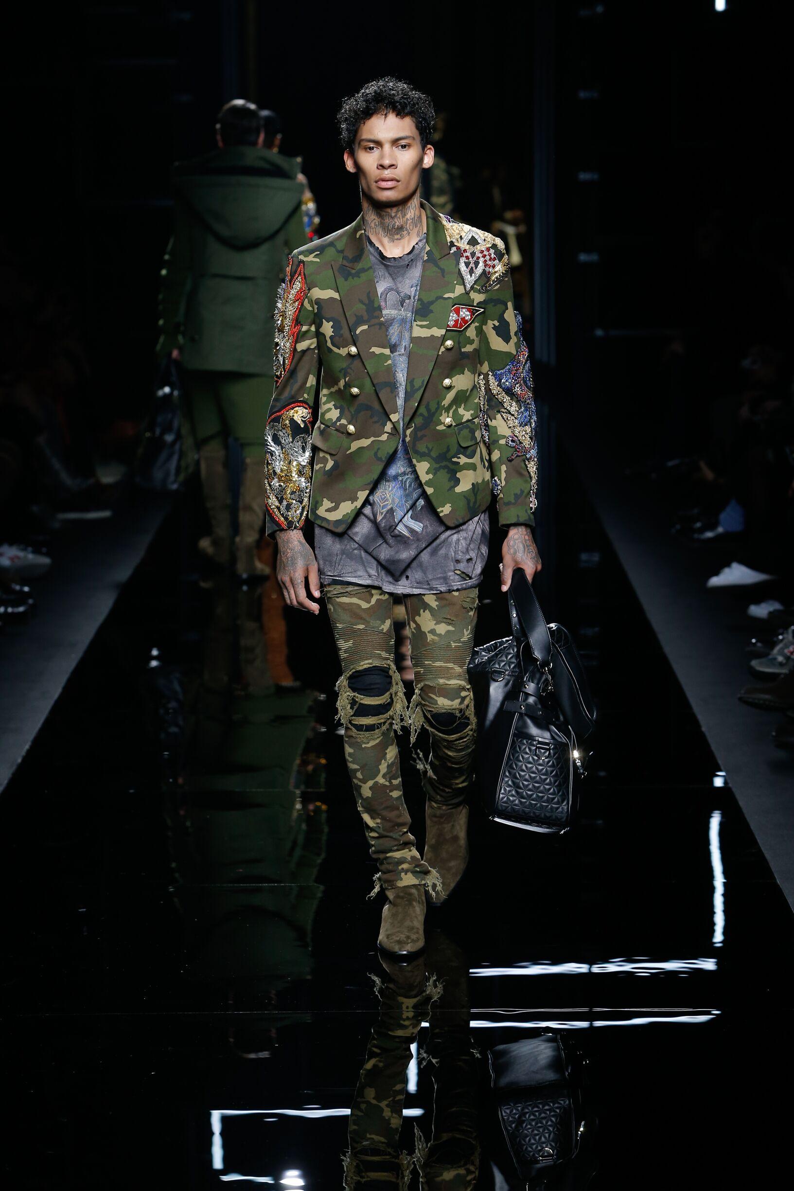 Fall 2017-18 Menswear Balmain