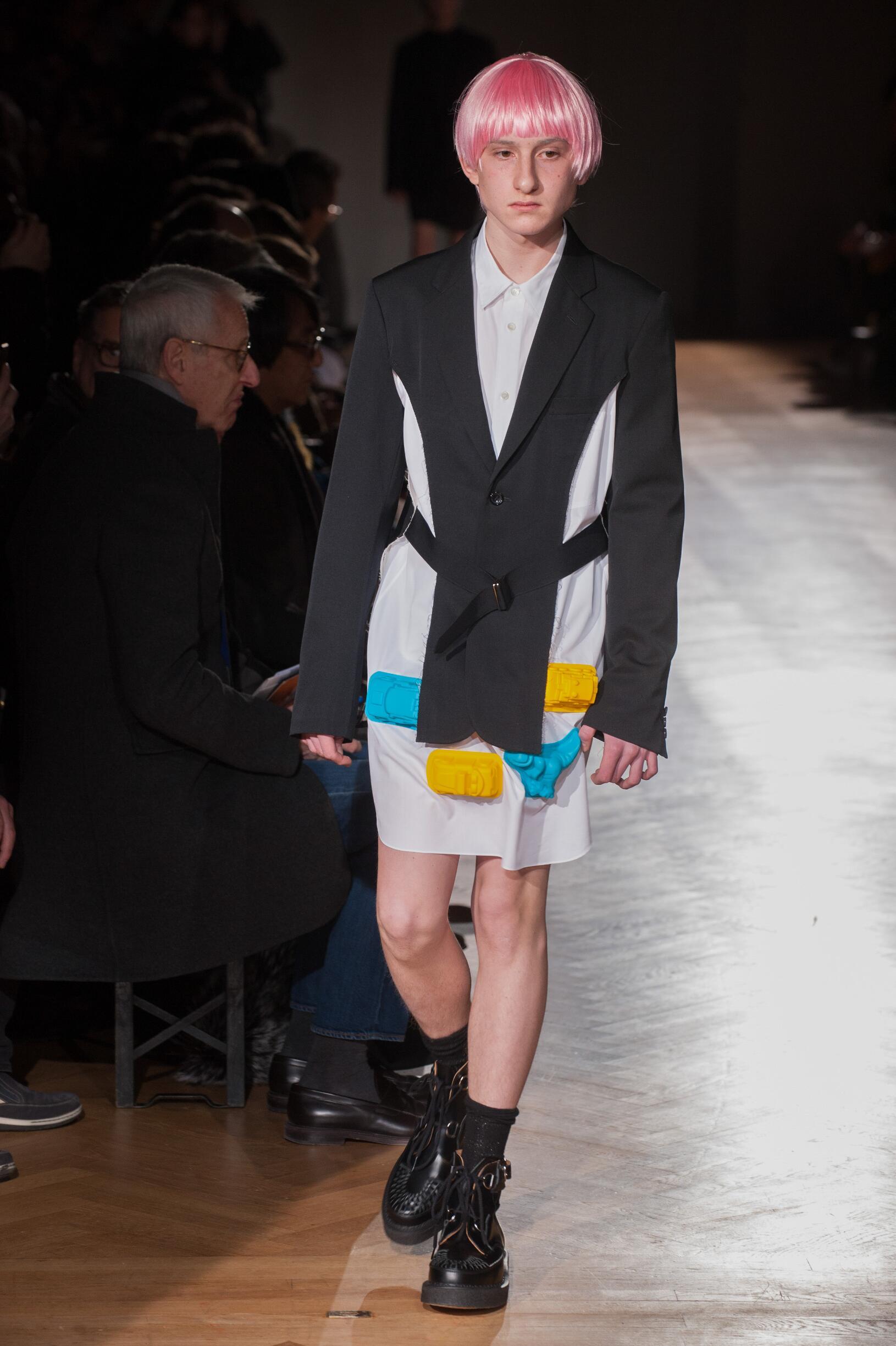 Fall 2017-18 Menswear Comme des Garçons Homme Plus