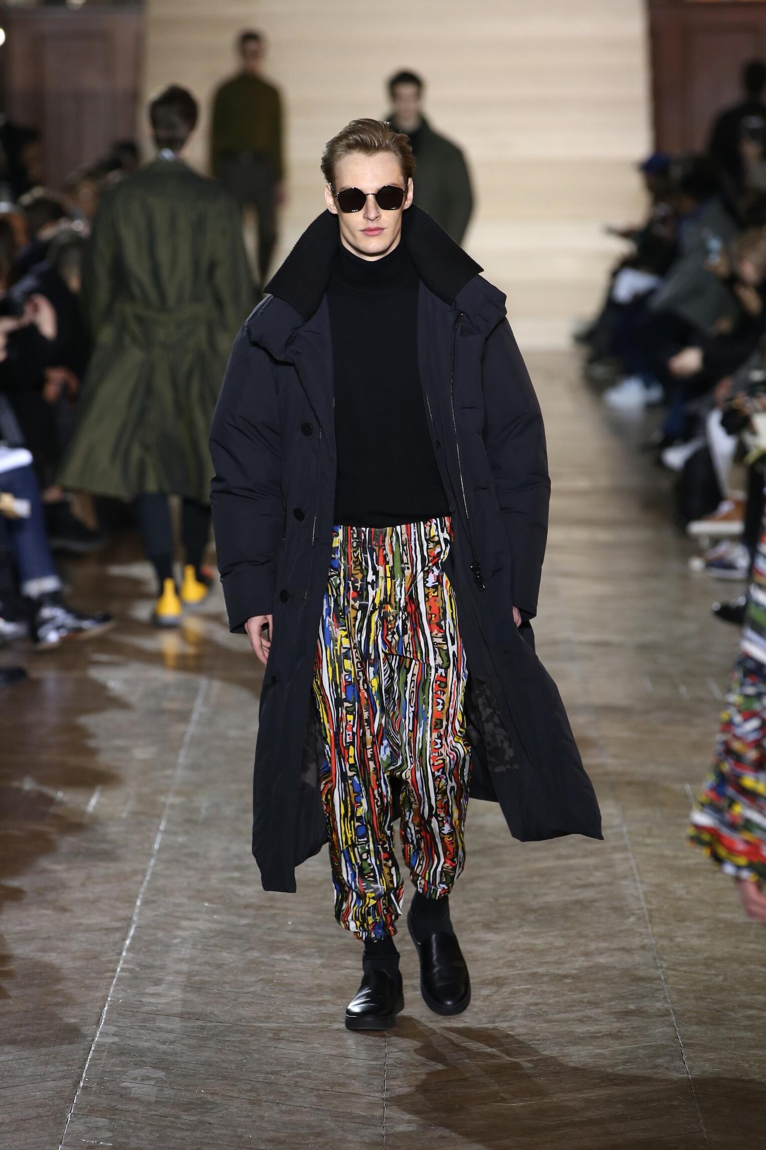 Fall 2017-18 Menswear Issey Miyake