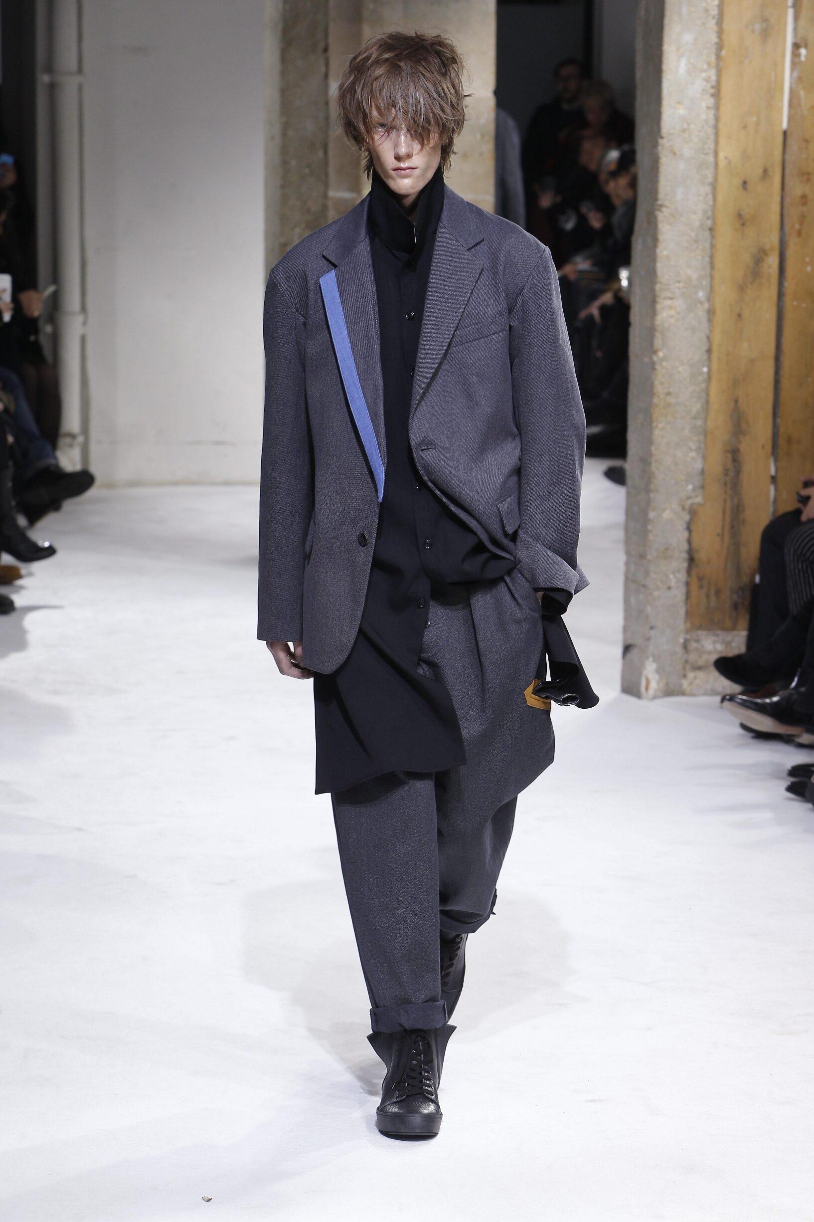 Fall 2017-18 Menswear Yohji Yamamoto