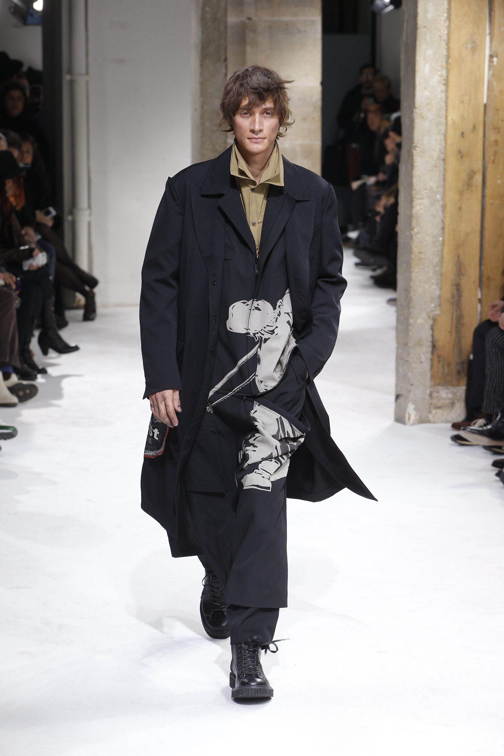 Fall Fashion 2017-18 Yohji Yamamoto