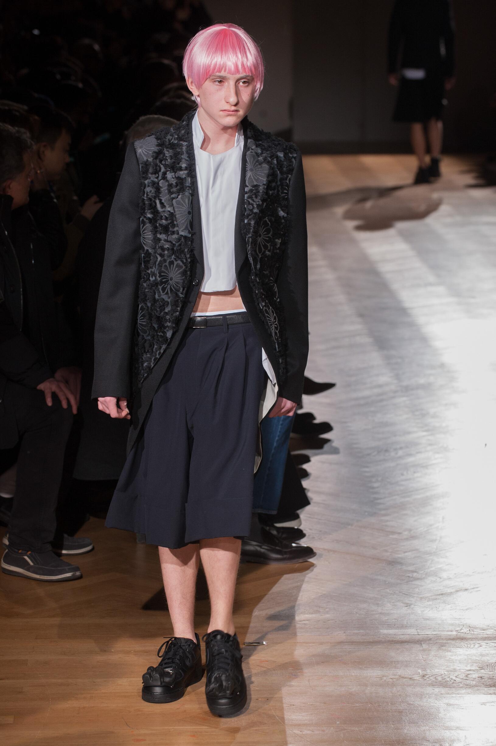 Fall Fashion Trends 2017 Comme des Garçons Homme Plus