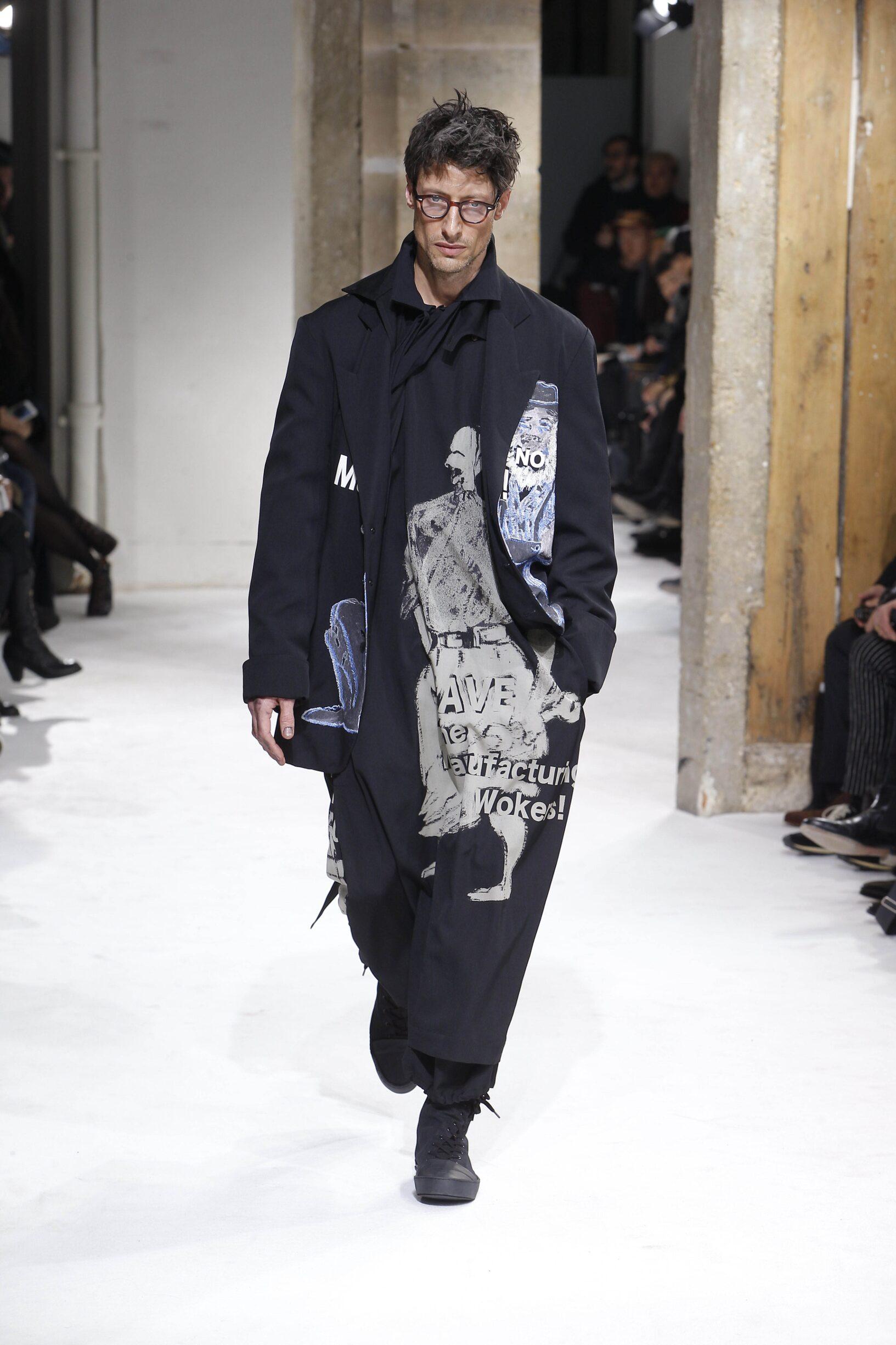 Fall Fashion Trends 2017 Yohji Yamamoto