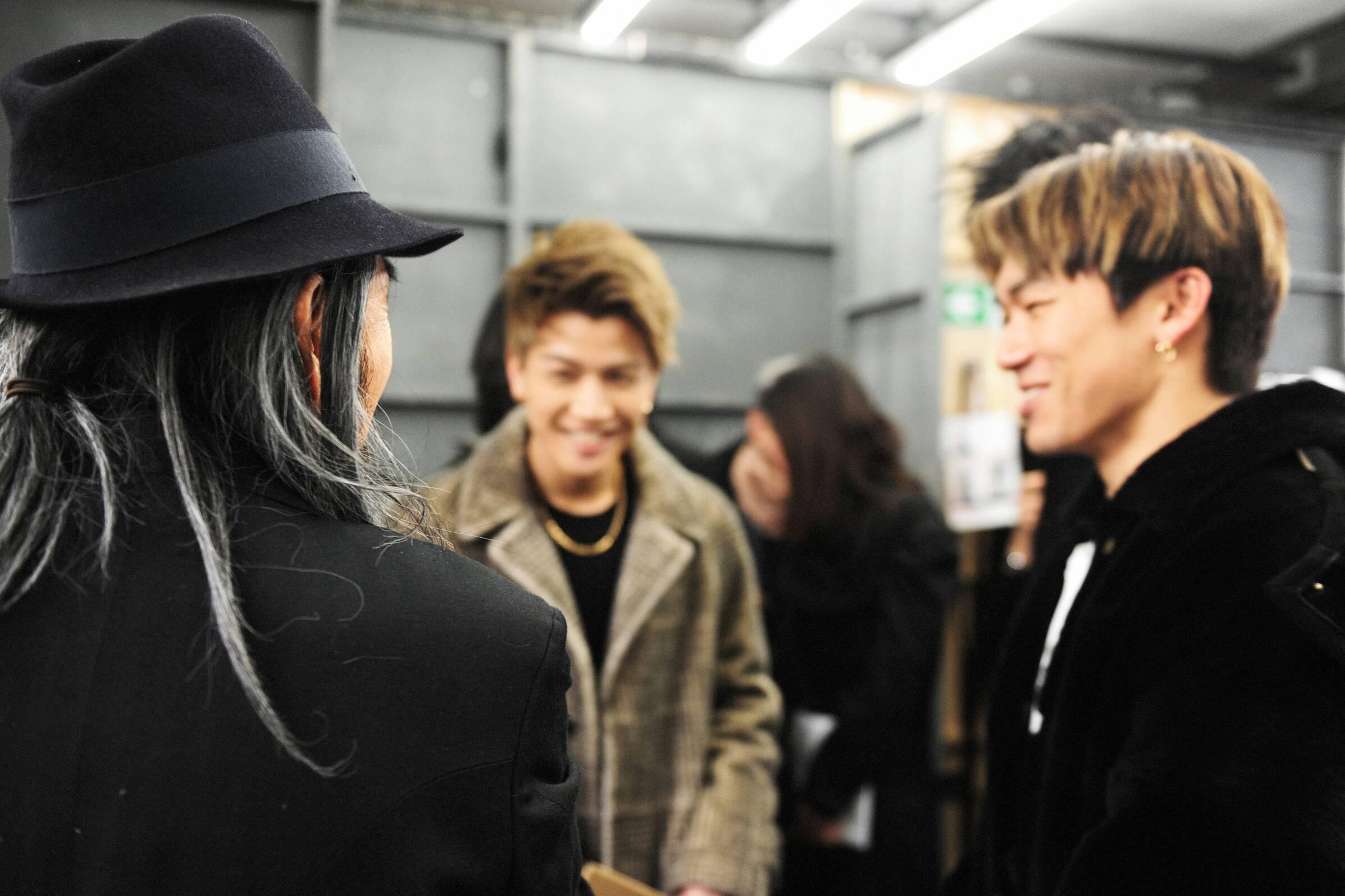 Fall Winter 2017-18 Backstage Yohji Yamamoto 2017 Paris