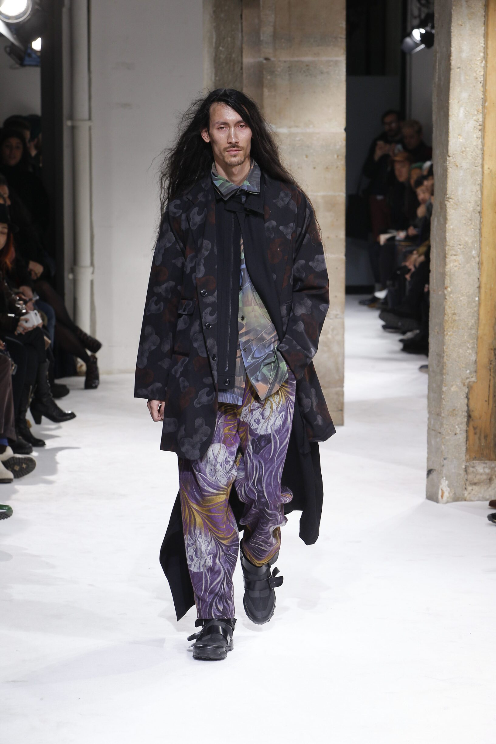 Fall Winter 2017 Man Paris Yohji Yamamoto Collection