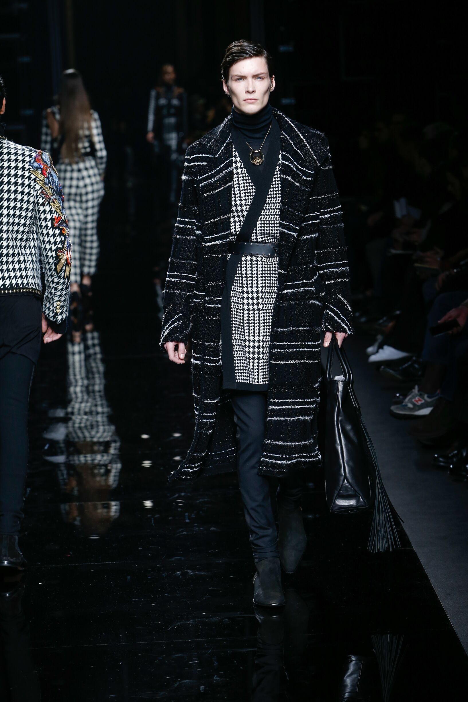 Fashion 2017-2018 Catwalk Balmain Winter