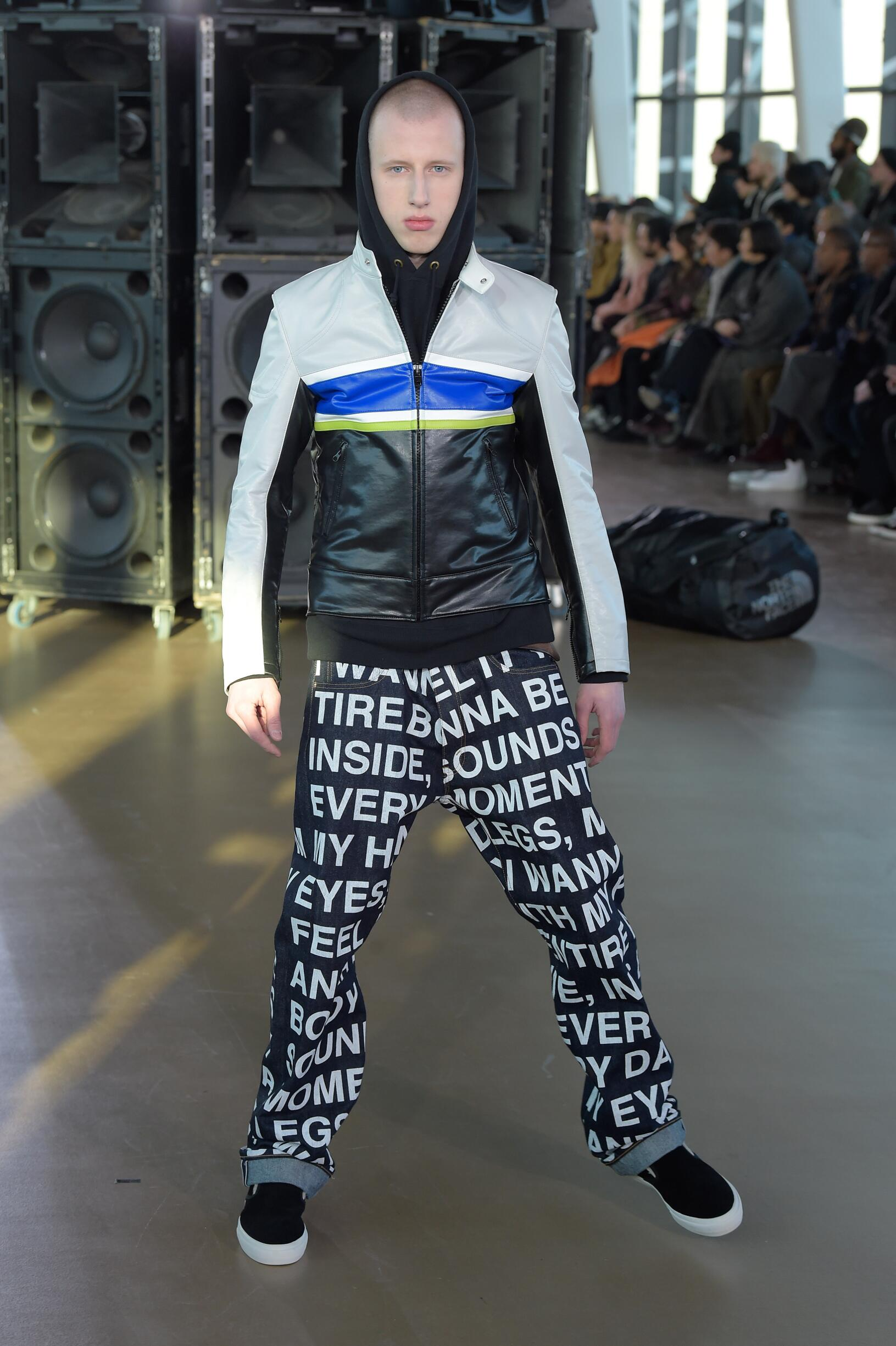 Fashion Model Junya Watanabe Catwalk
