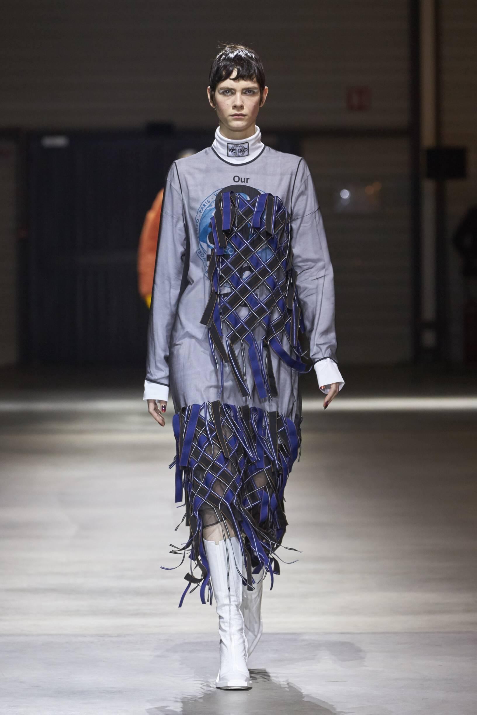 Kenzo Fall Winter 2017 Womens Collection Paris Fashion Week