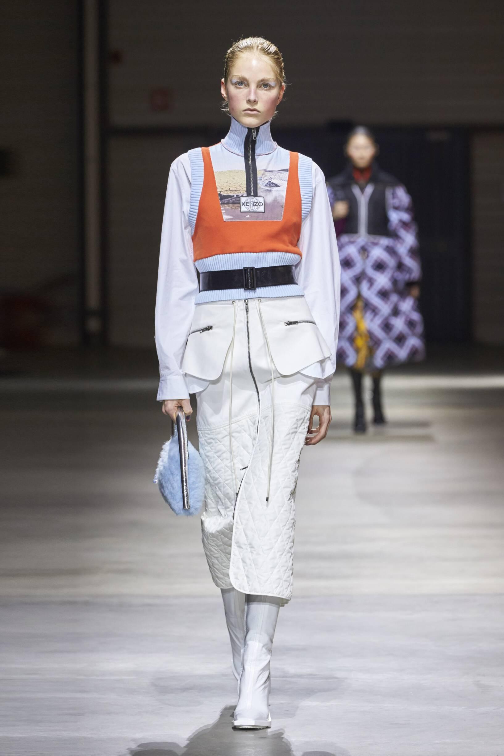Kenzo Woman Style