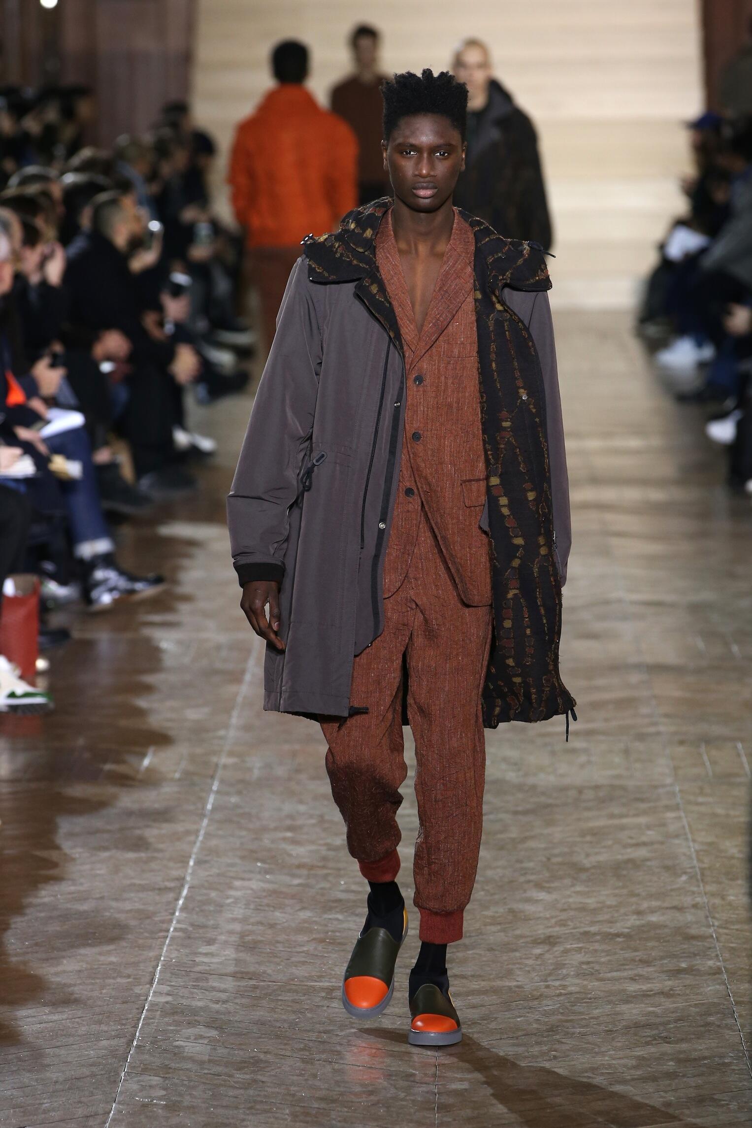Man Fall 2017 Fashion Trends Issey Miyake