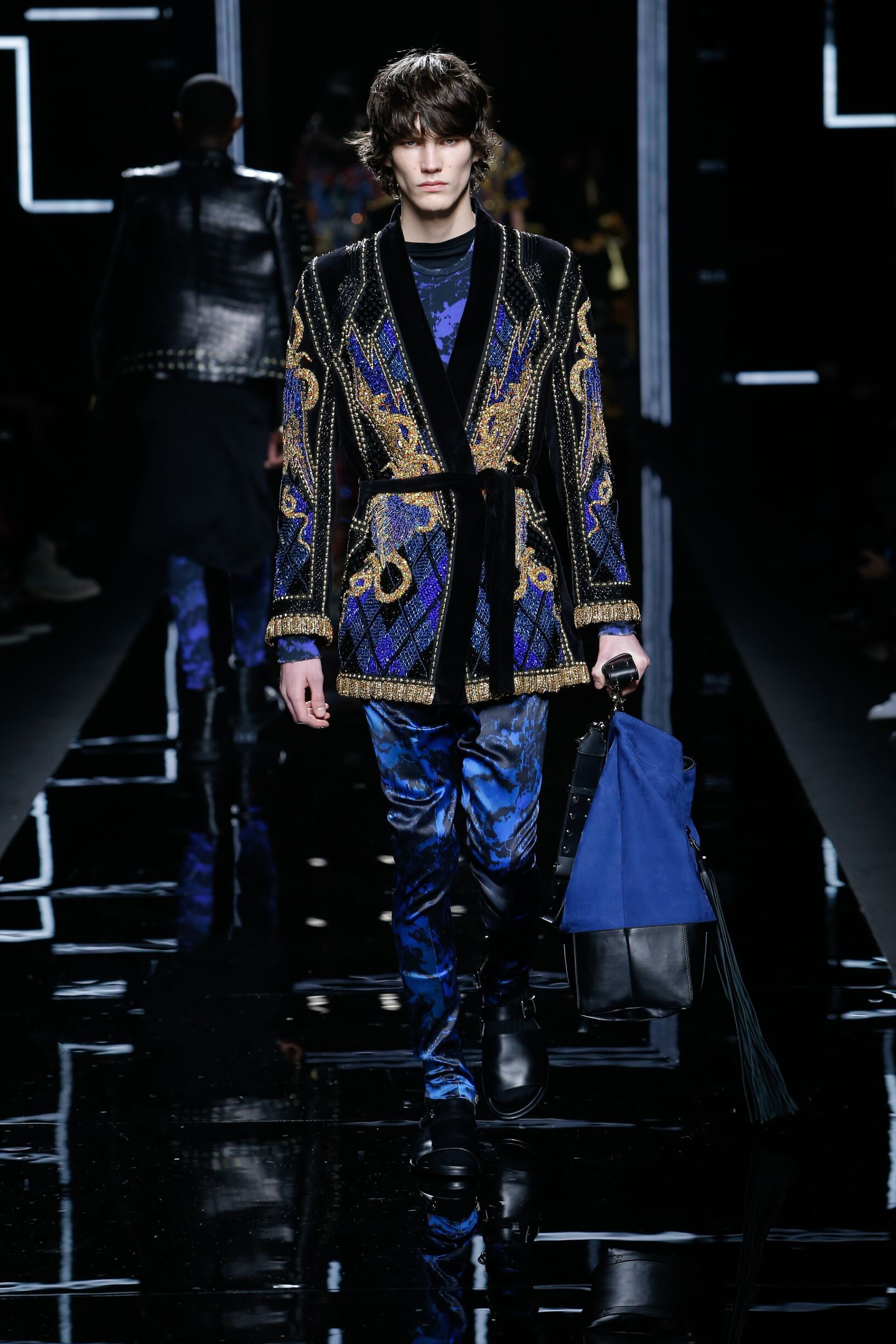 Mens Collection FW 2017-2018 Balmain Fashion Show Paris