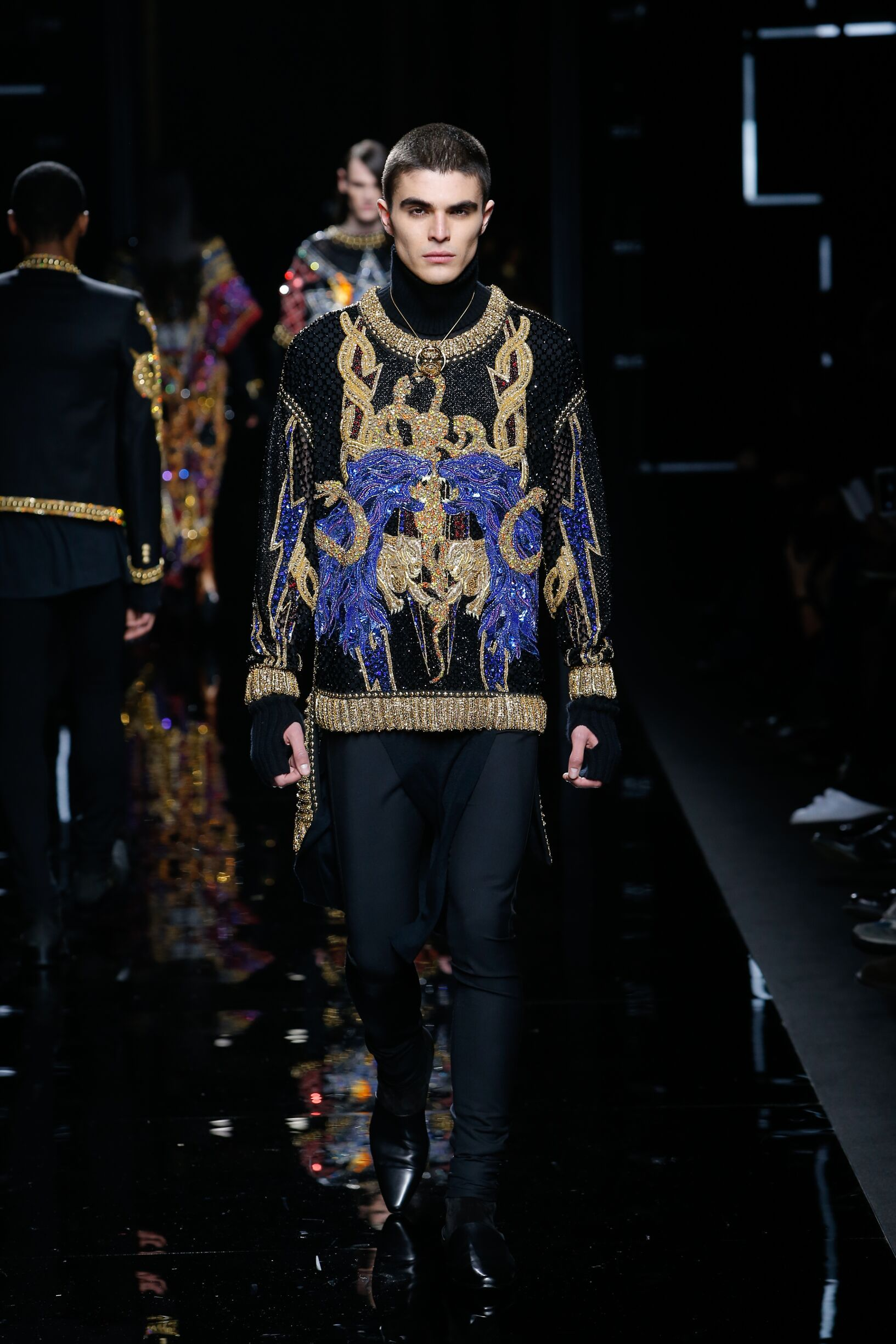 Menswear FW Balmain 2017 Fashion Week