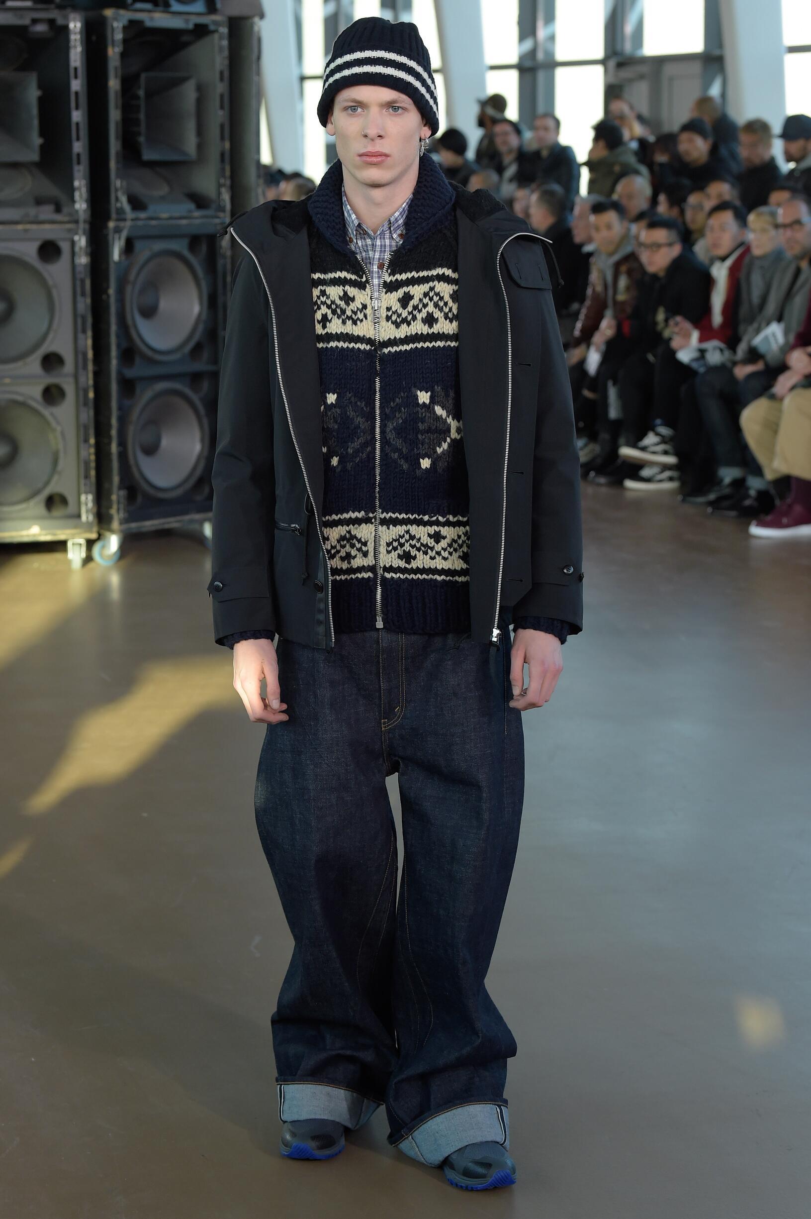 Menswear FW Junya Watanabe 2017